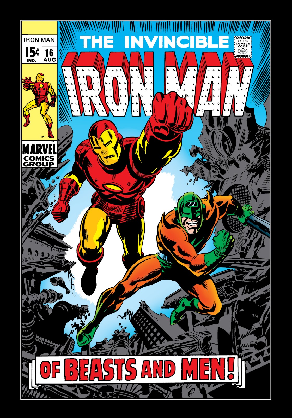 Read online Marvel Masterworks: The Invincible Iron Man comic -  Issue # TPB 6 (Part 1) - 48