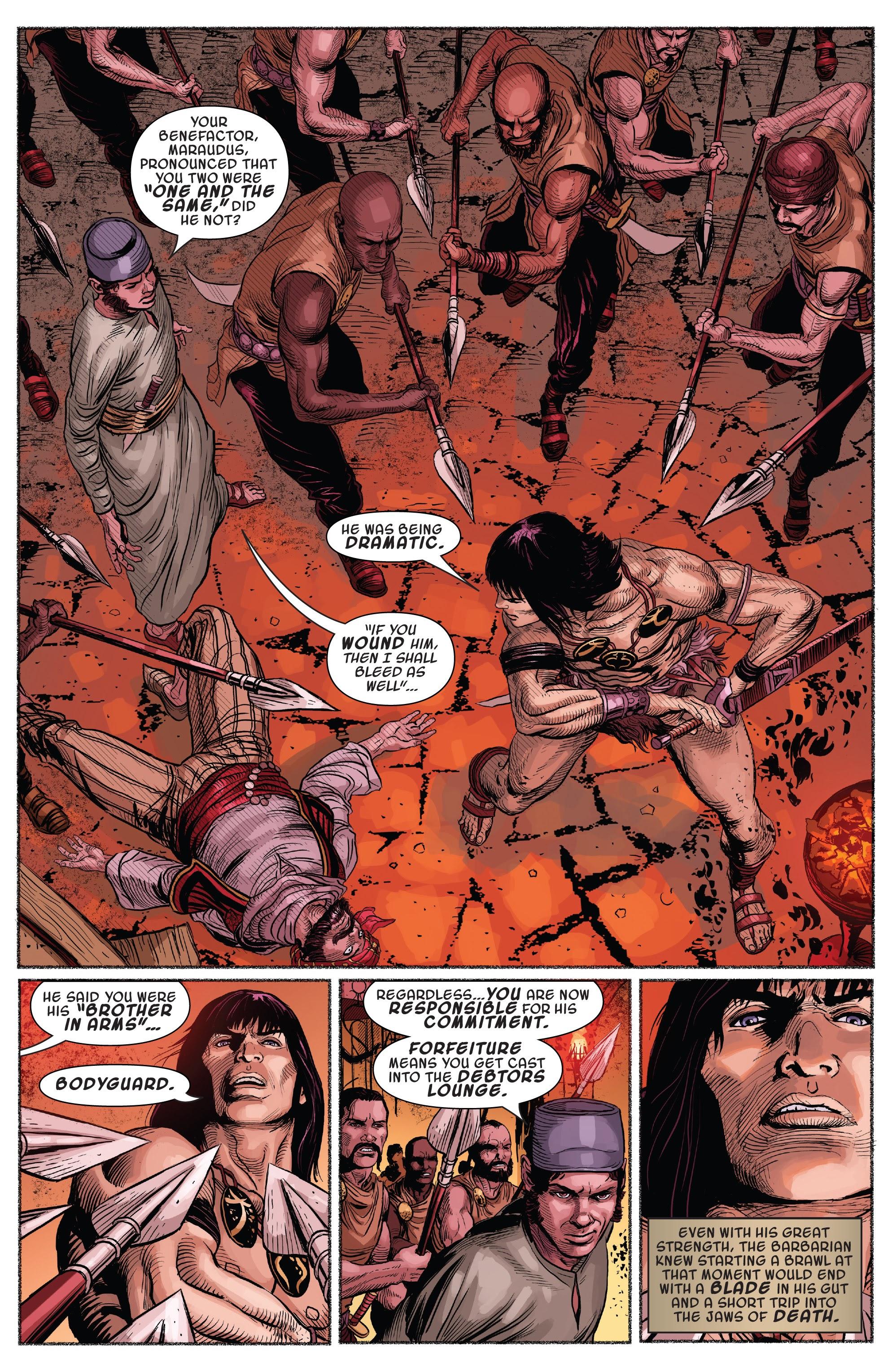 Read online Savage Sword of Conan comic -  Issue #7 - 21