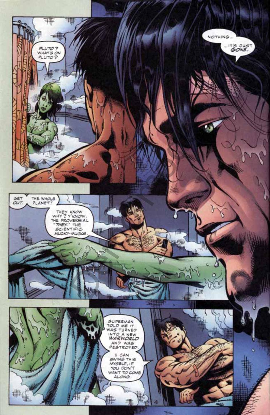 Read online Green Lantern: Our Worlds At War comic -  Issue # Full - 5