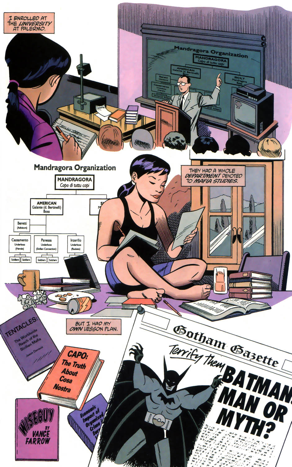 Read online Batman/Huntress: Cry for Blood comic -  Issue #5 - 12