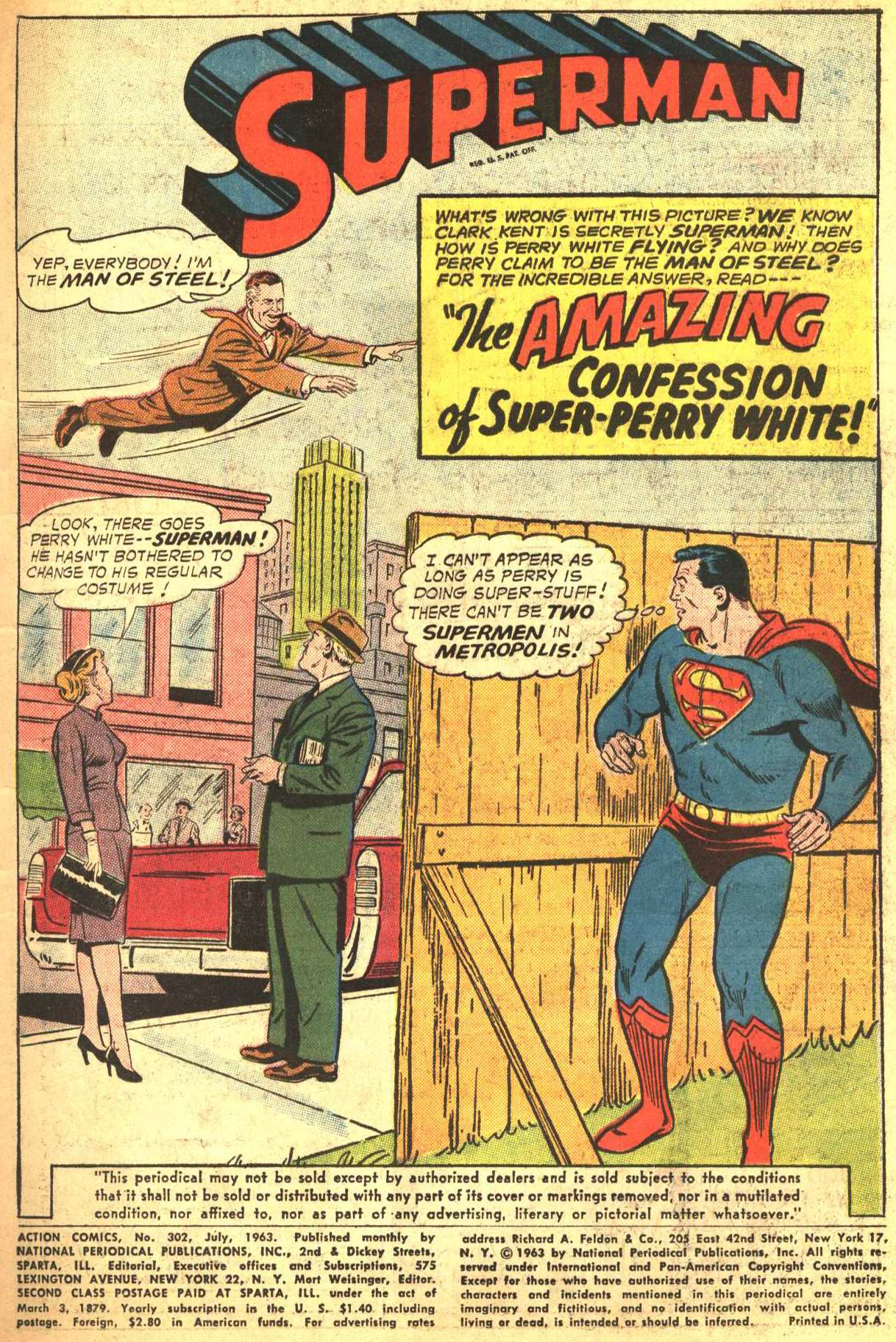 Read online Action Comics (1938) comic -  Issue #302 - 2
