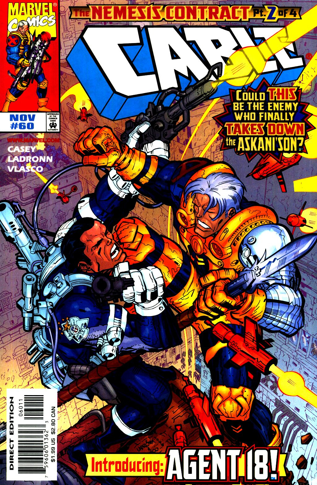 Cable (1993) 60 Page 1