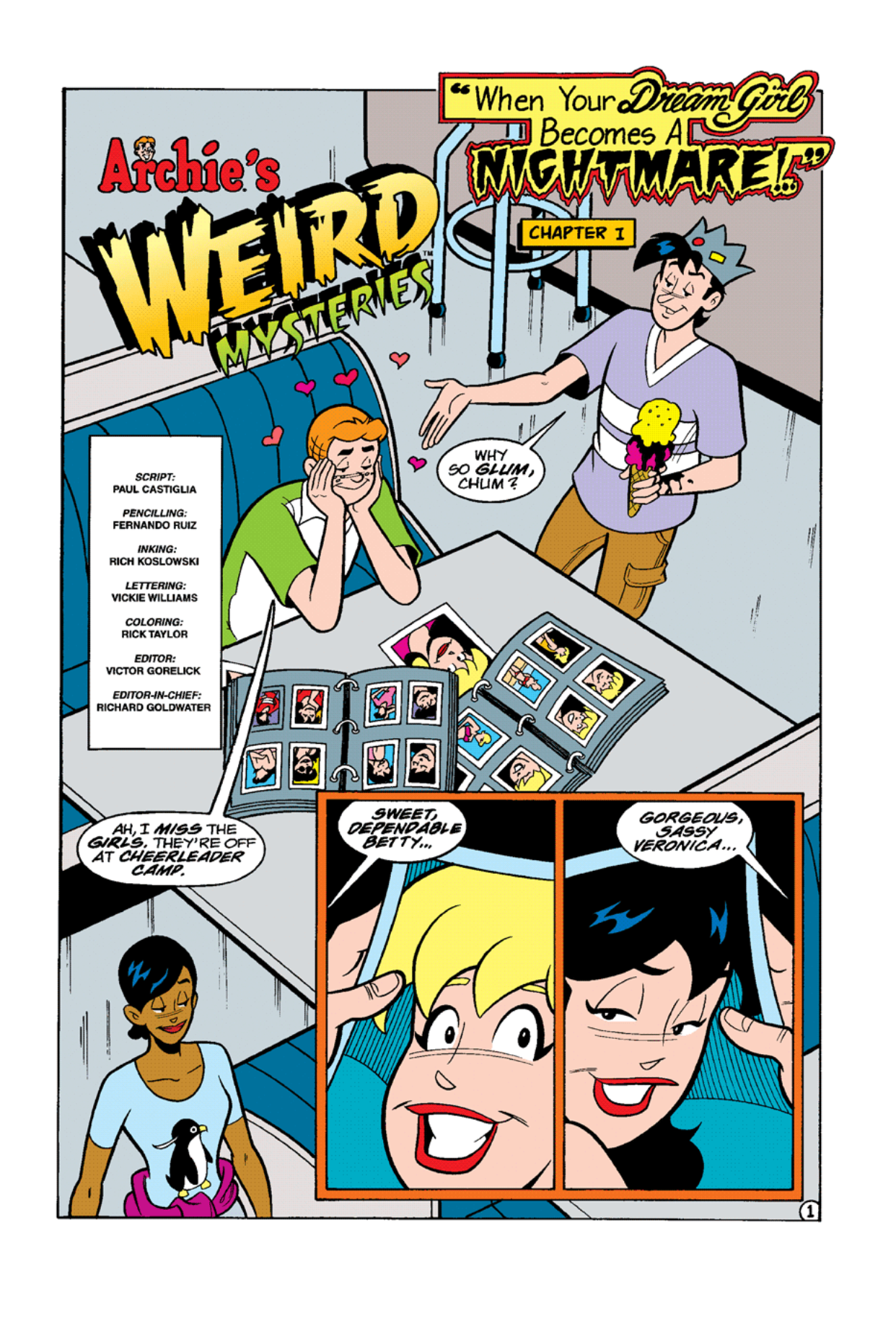 Read online Archie's Weird Mysteries comic -  Issue #9 - 3