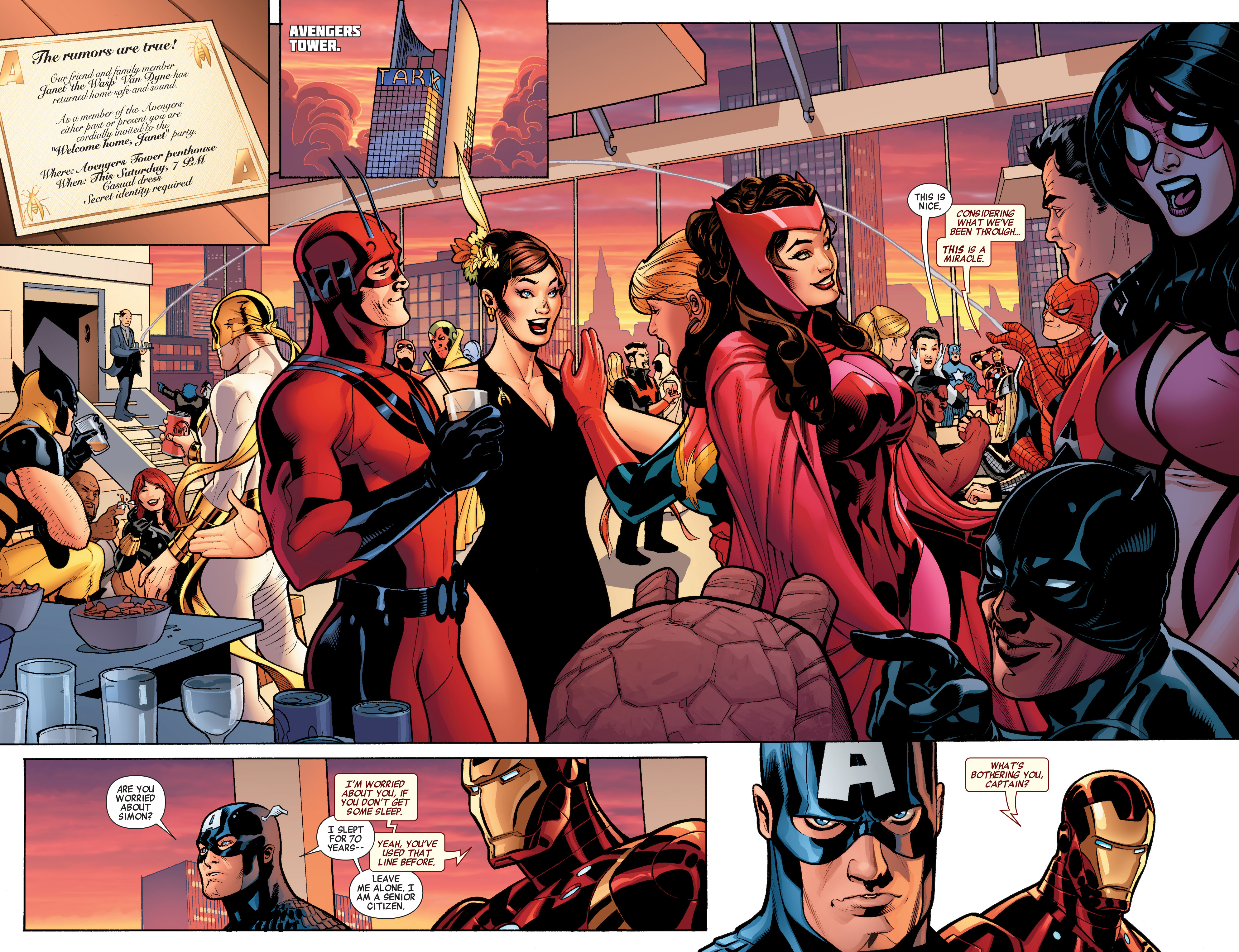 Read online Avengers (2010) comic -  Issue #34 - 29
