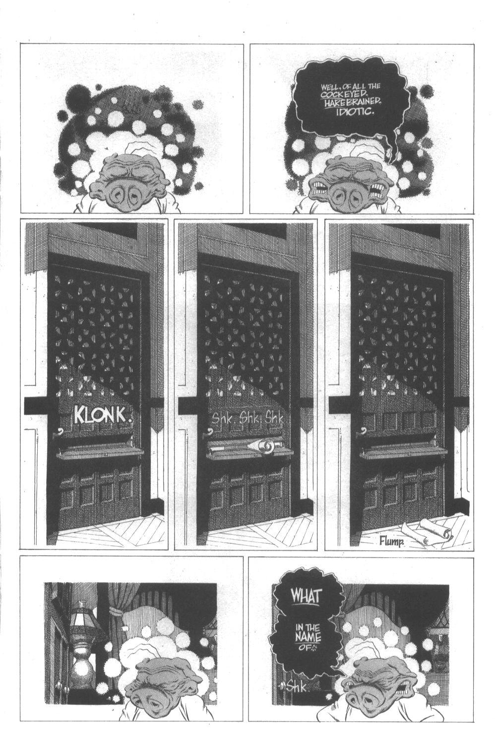 Cerebus Issue #296 #294 - English 21