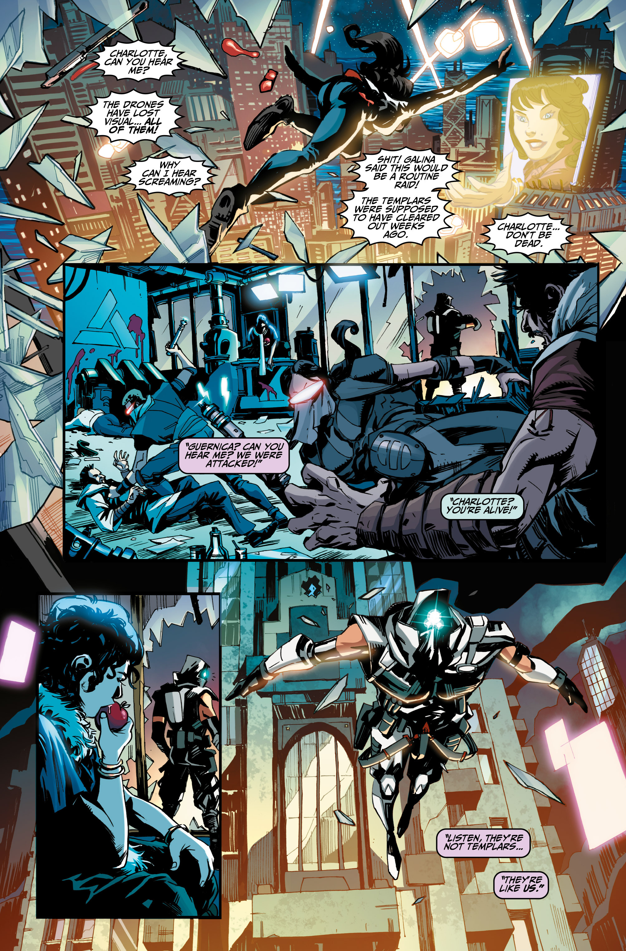 Read online Assassin's Creed: Uprising comic -  Issue #1 - 9