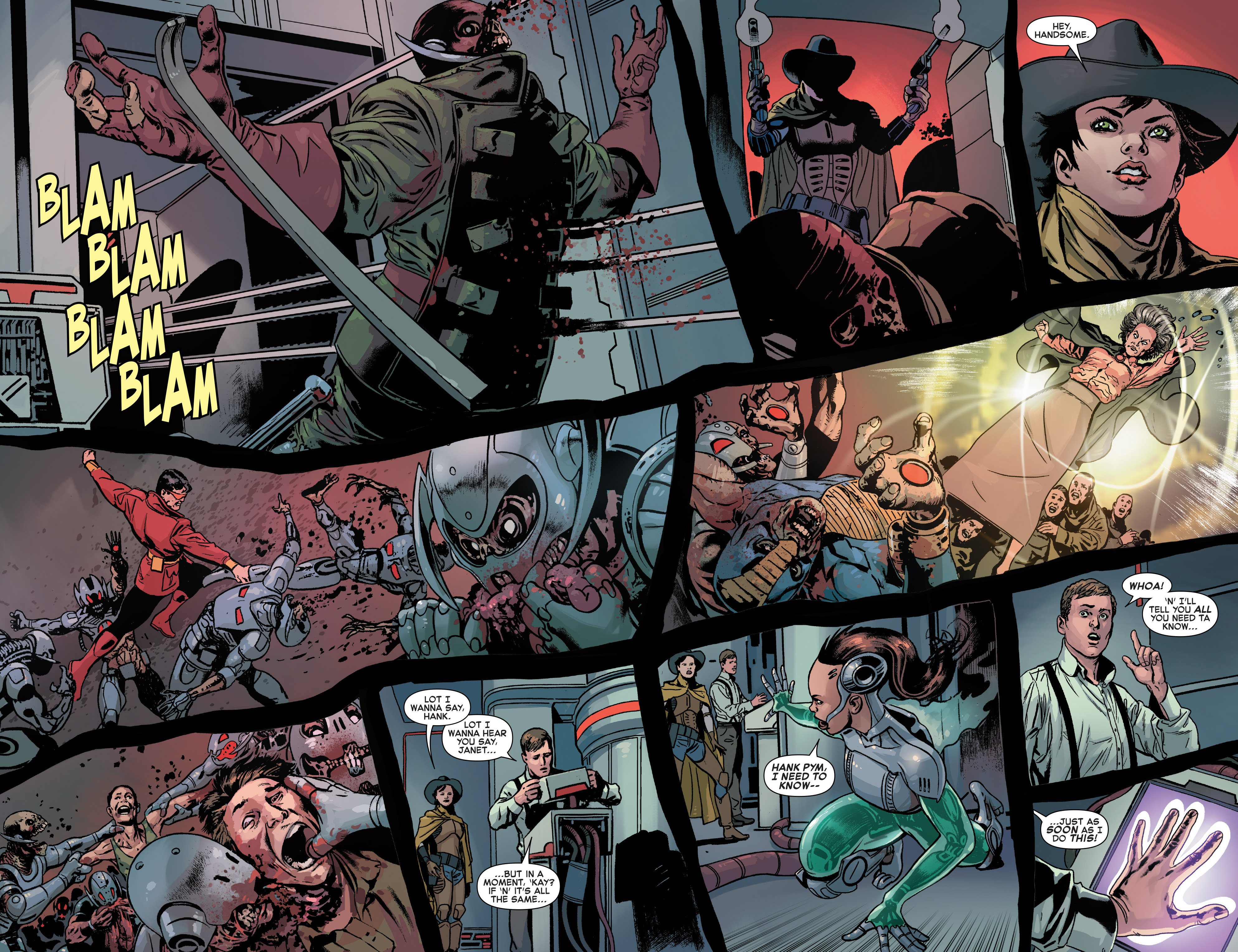 Read online Age of Ultron Vs. Marvel Zombies comic -  Issue #4 - 13