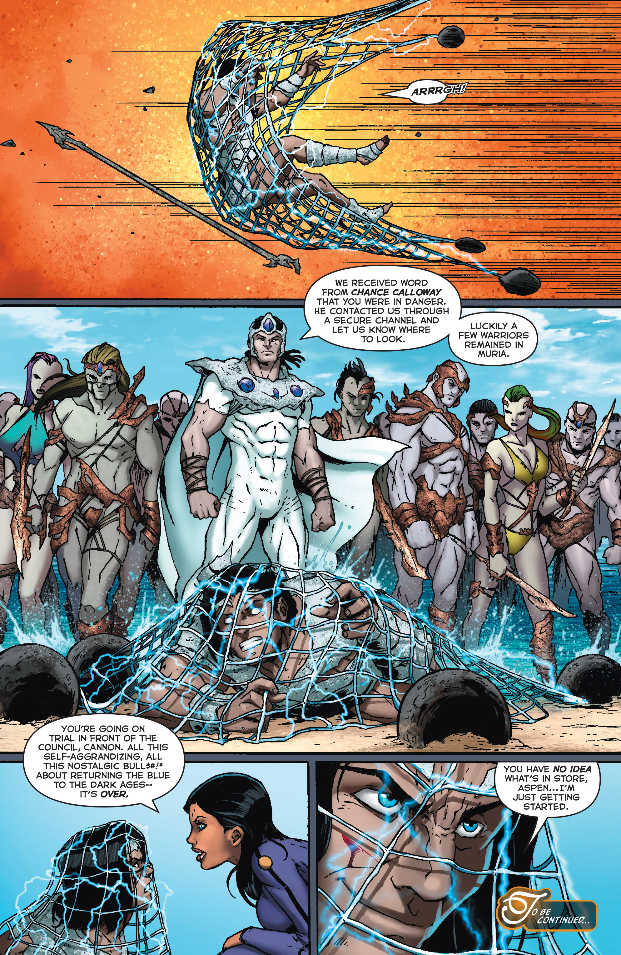 Read online Fathom (2017) comic -  Issue #5 - 23