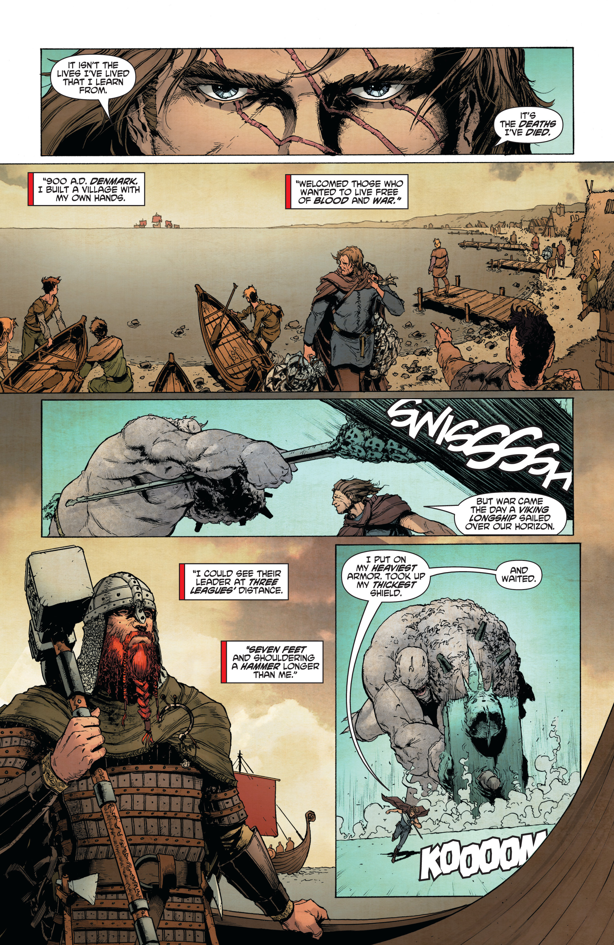Read online Wrath of the Eternal Warrior comic -  Issue #13 - 15