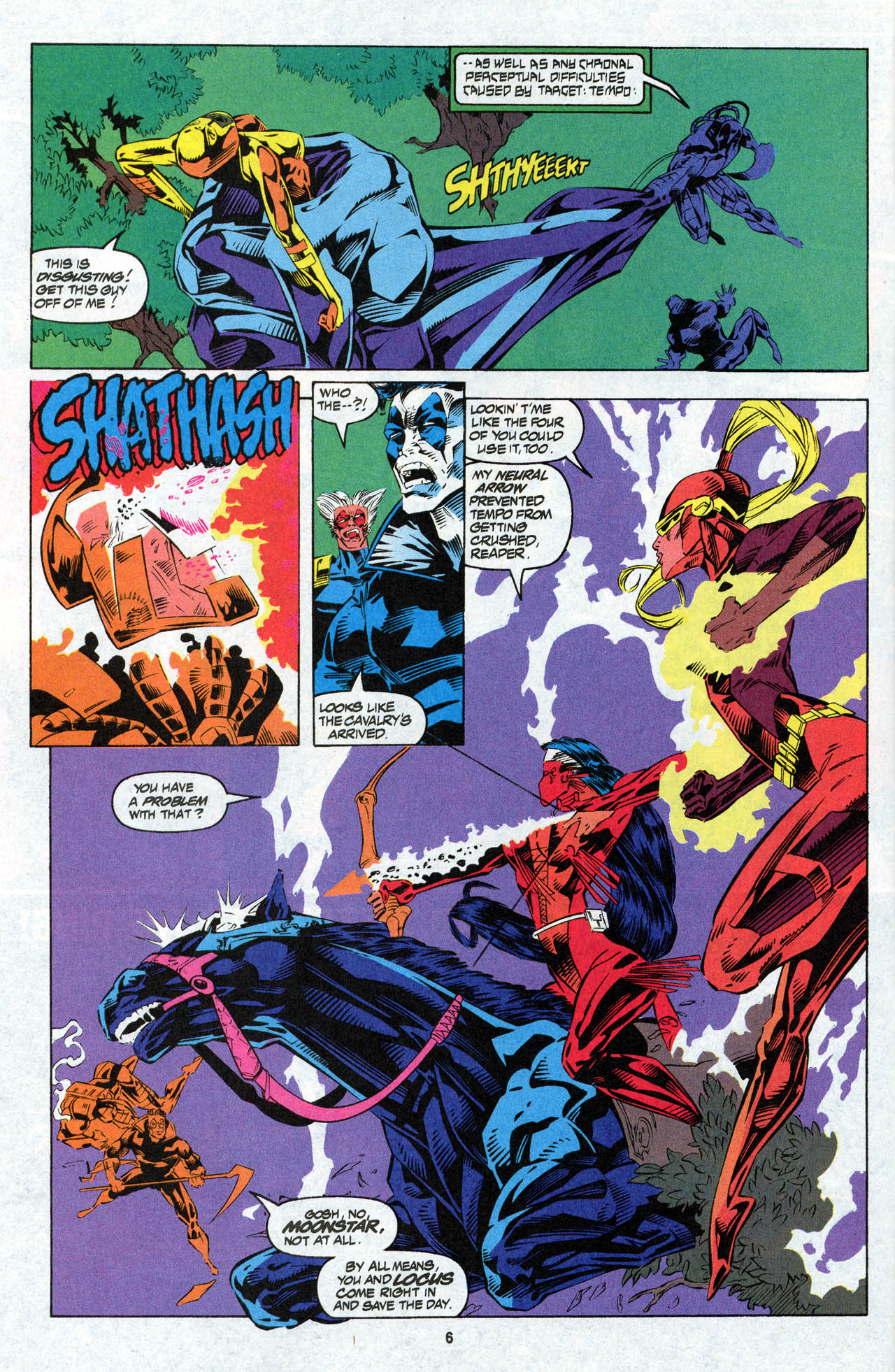 Read online X-Force (1991) comic -  Issue #27 - 8