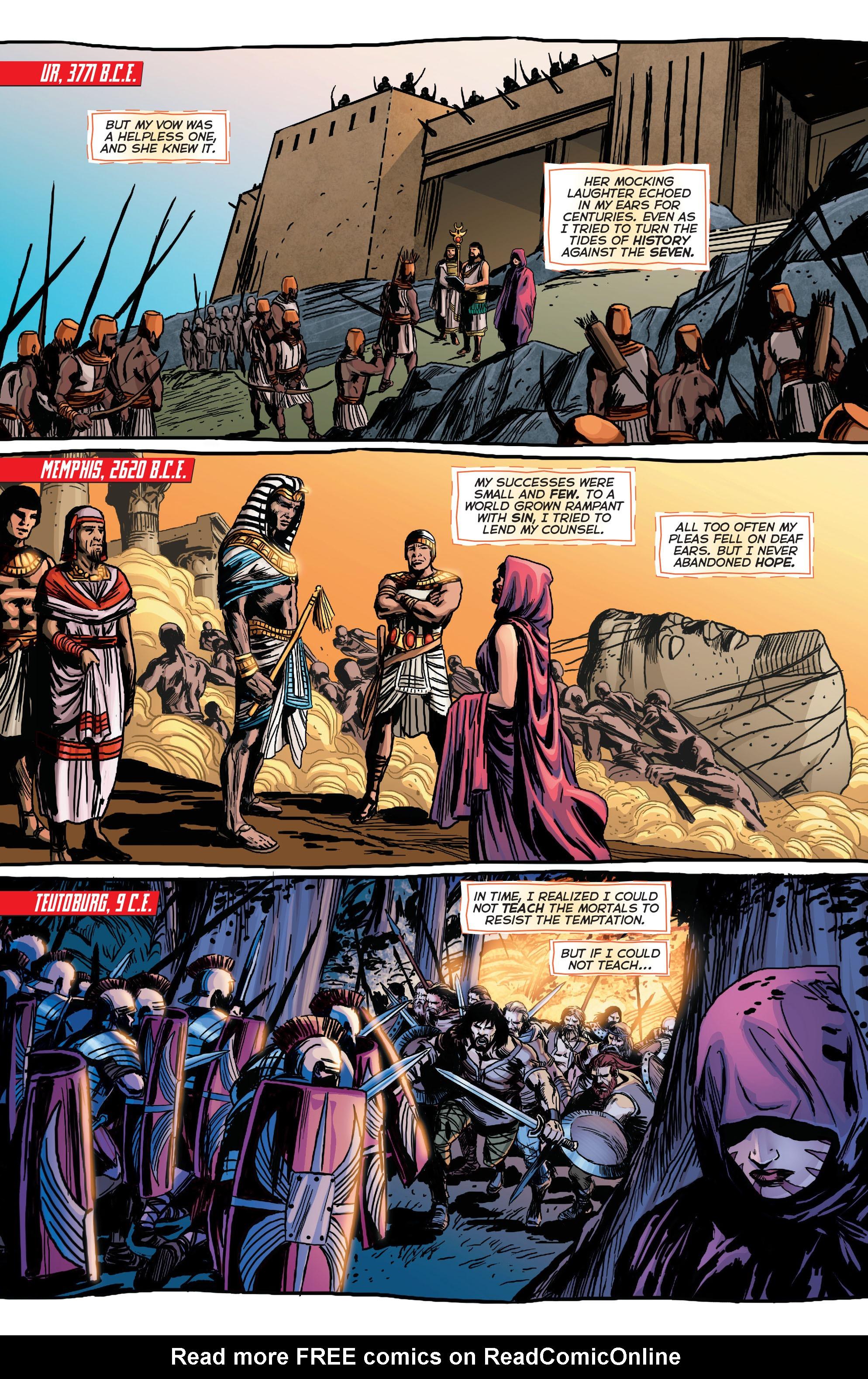 Read online Trinity of Sin: Pandora comic -  Issue #1 - 11
