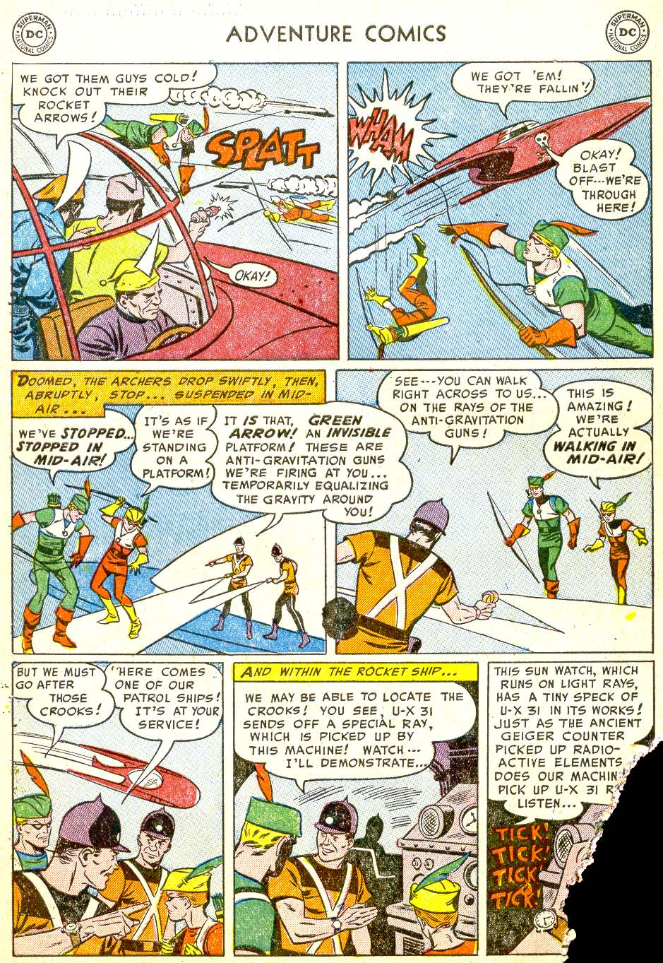 Read online Adventure Comics (1938) comic -  Issue #194 - 37