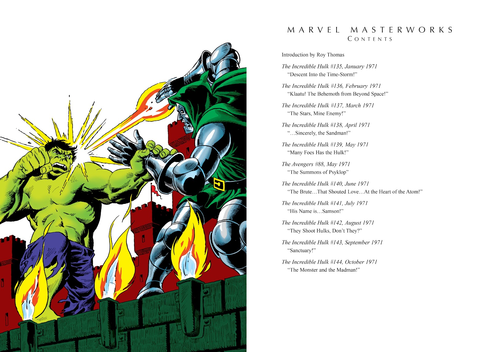 Read online Marvel Masterworks: The Incredible Hulk comic -  Issue # TPB 7 (Part 1) - 4
