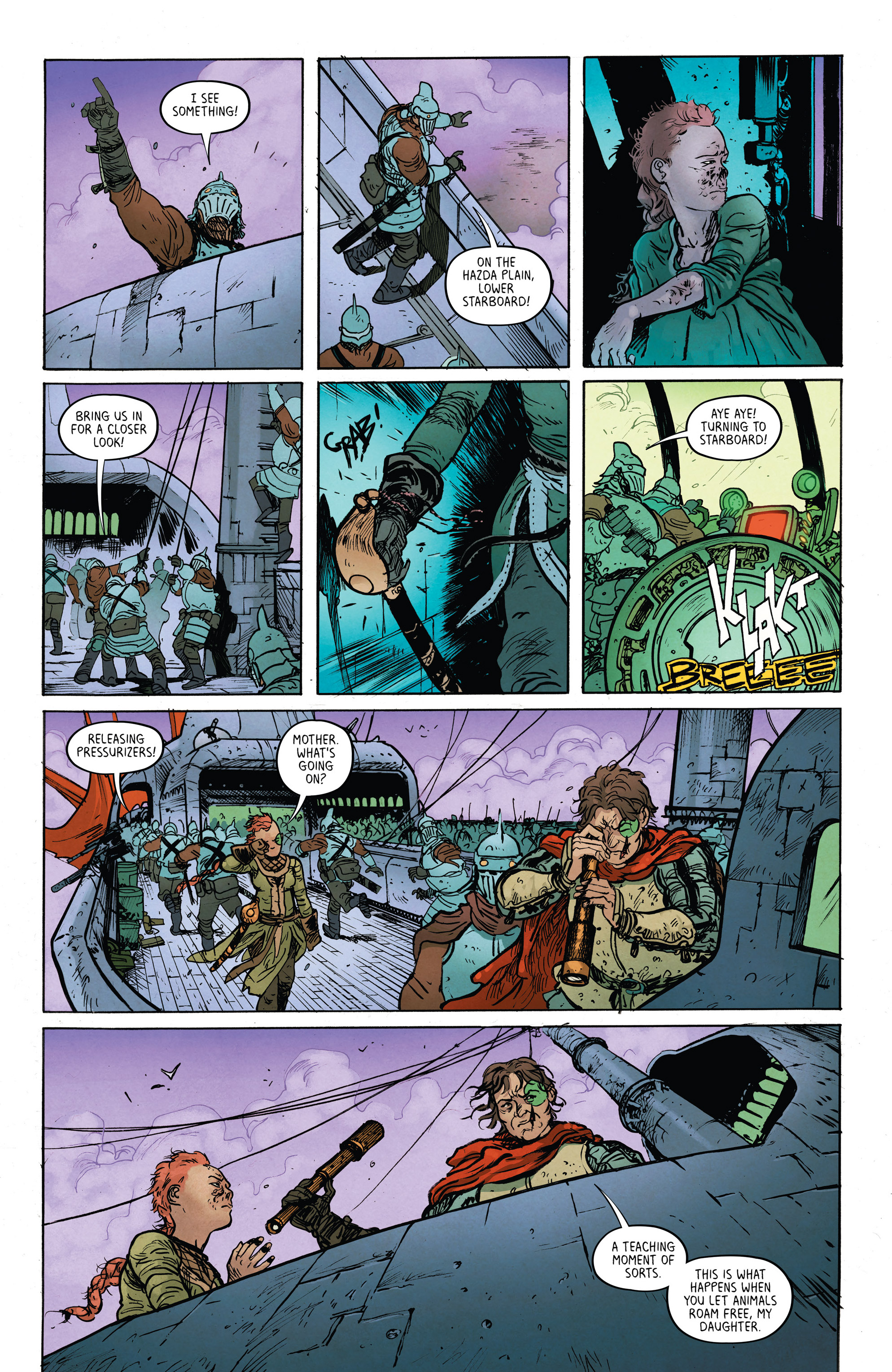 Read online Extremity comic -  Issue #4 - 7