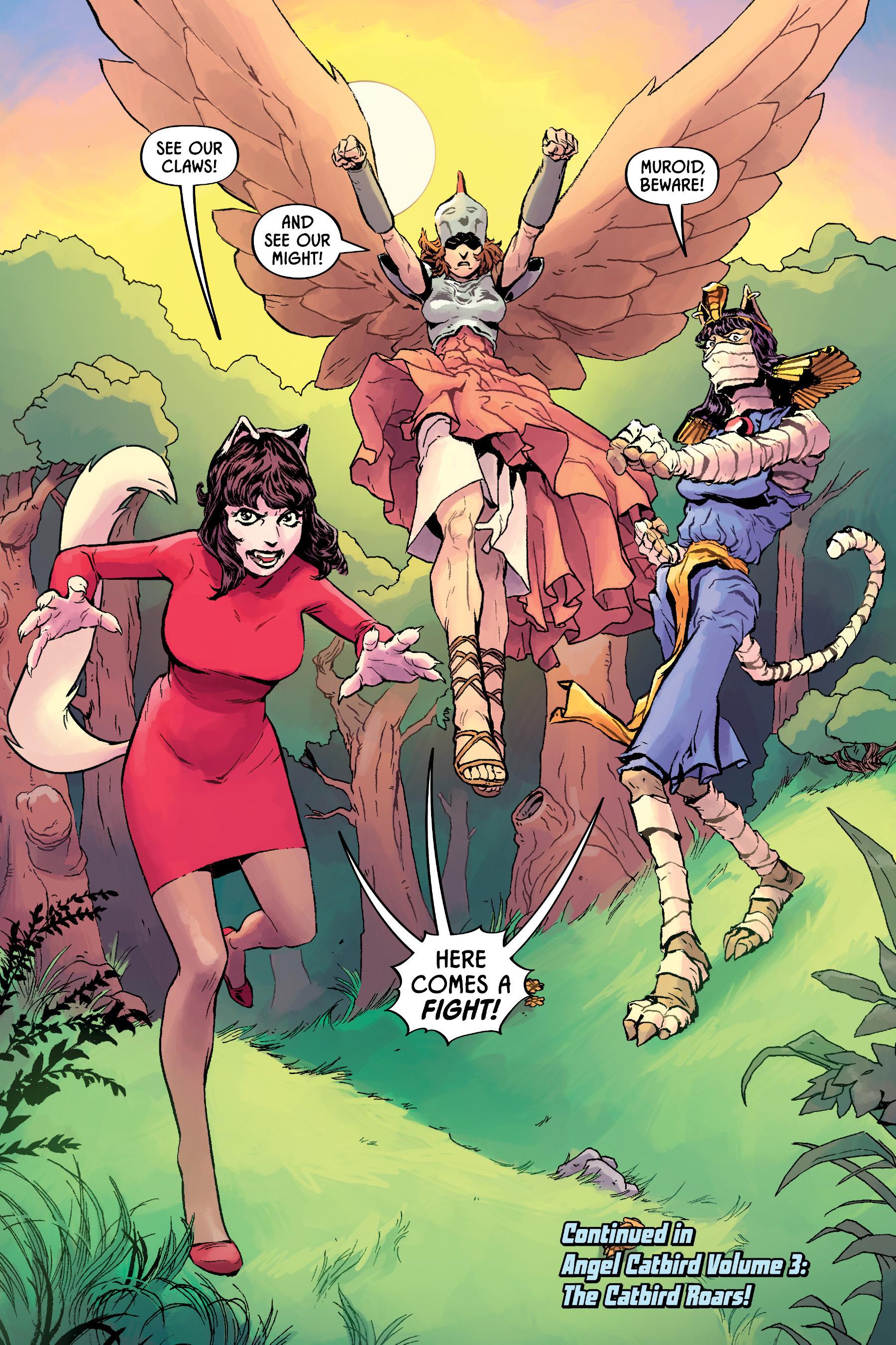 Read online Angel Catbird comic -  Issue # TPB 2 - 80