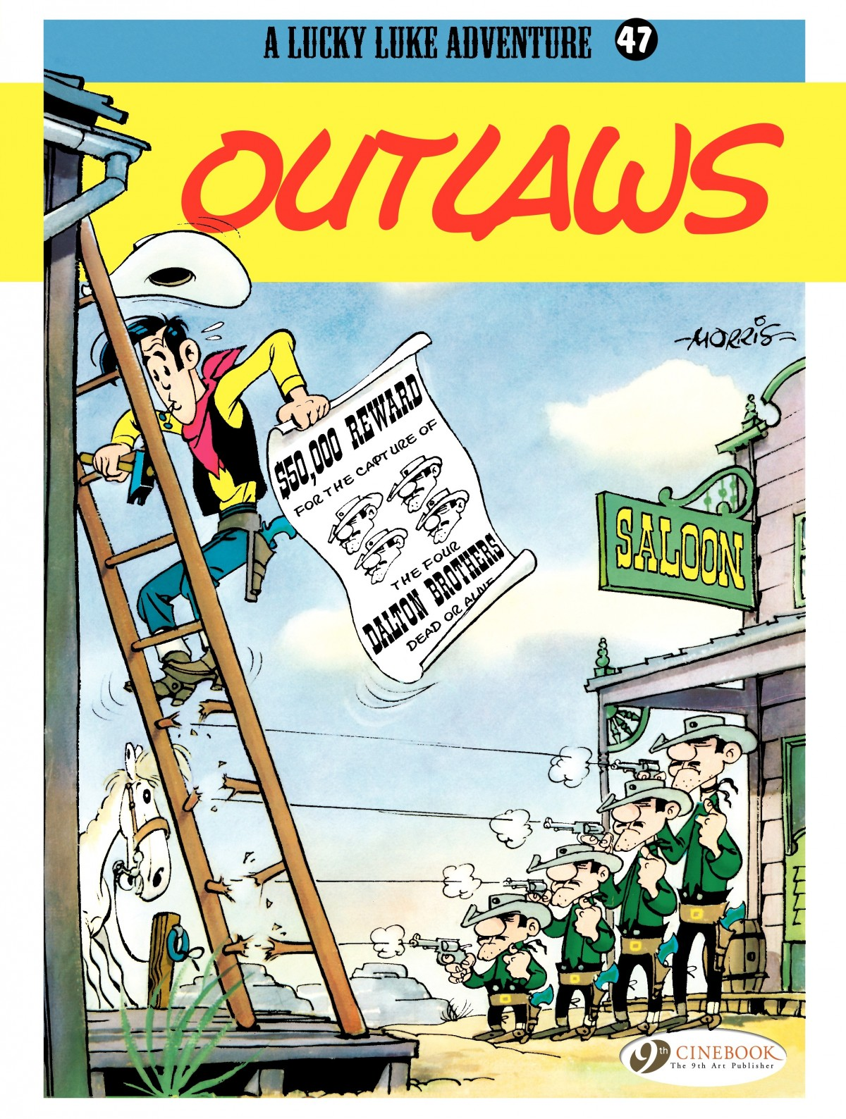 A Lucky Luke Adventure issue 47 - Page 1