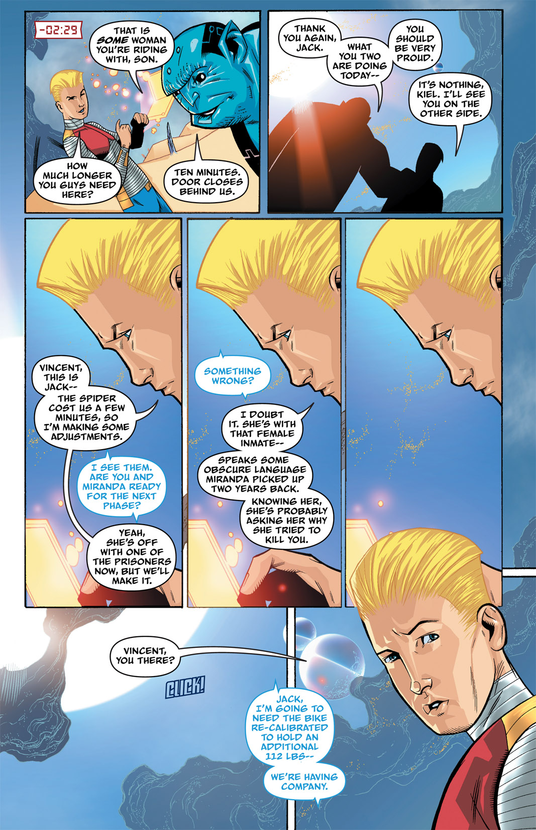 Read online The Many Adventures of Miranda Mercury: Time Runs Out comic -  Issue # TPB - 49