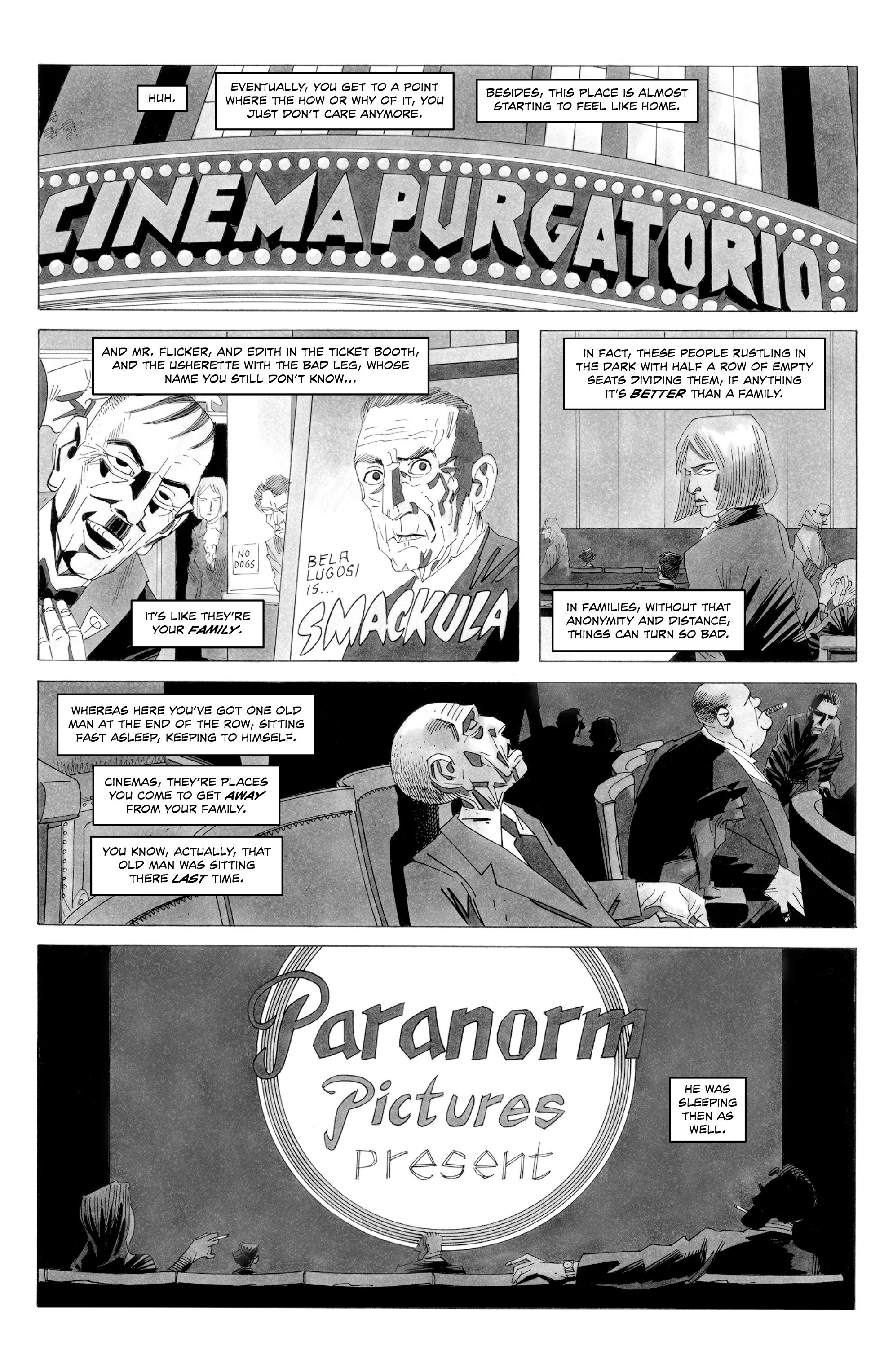 Alan Moore S Cinema Purgatorio Issue 7   Read Alan Moore S Cinema Purgatorio  Issue 7 comic online in high quality. Read Full Comic online for free -  Read comics online in high quality .
