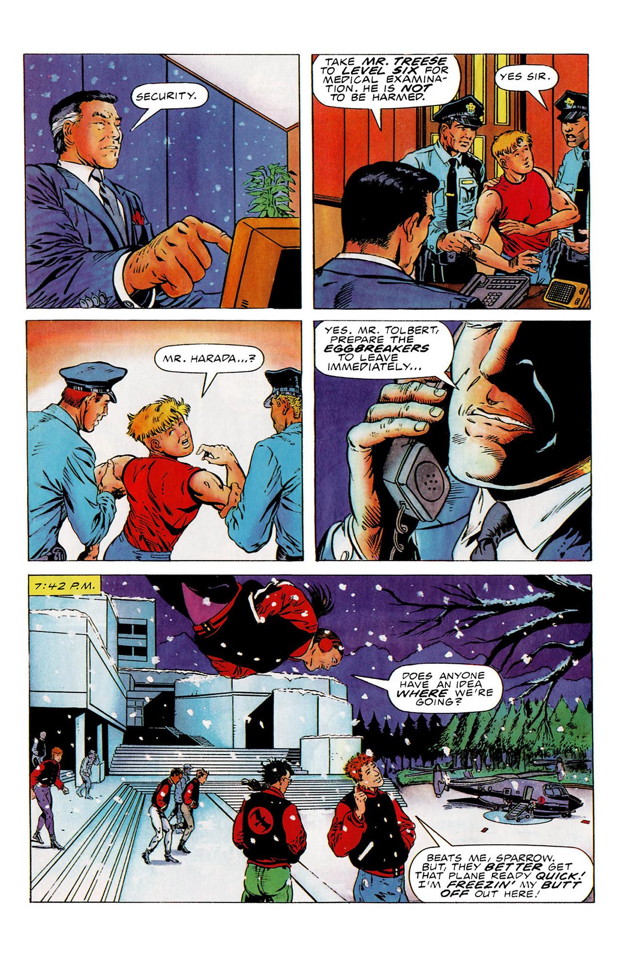 Read online Harbinger (1992) comic -  Issue #15 - 18