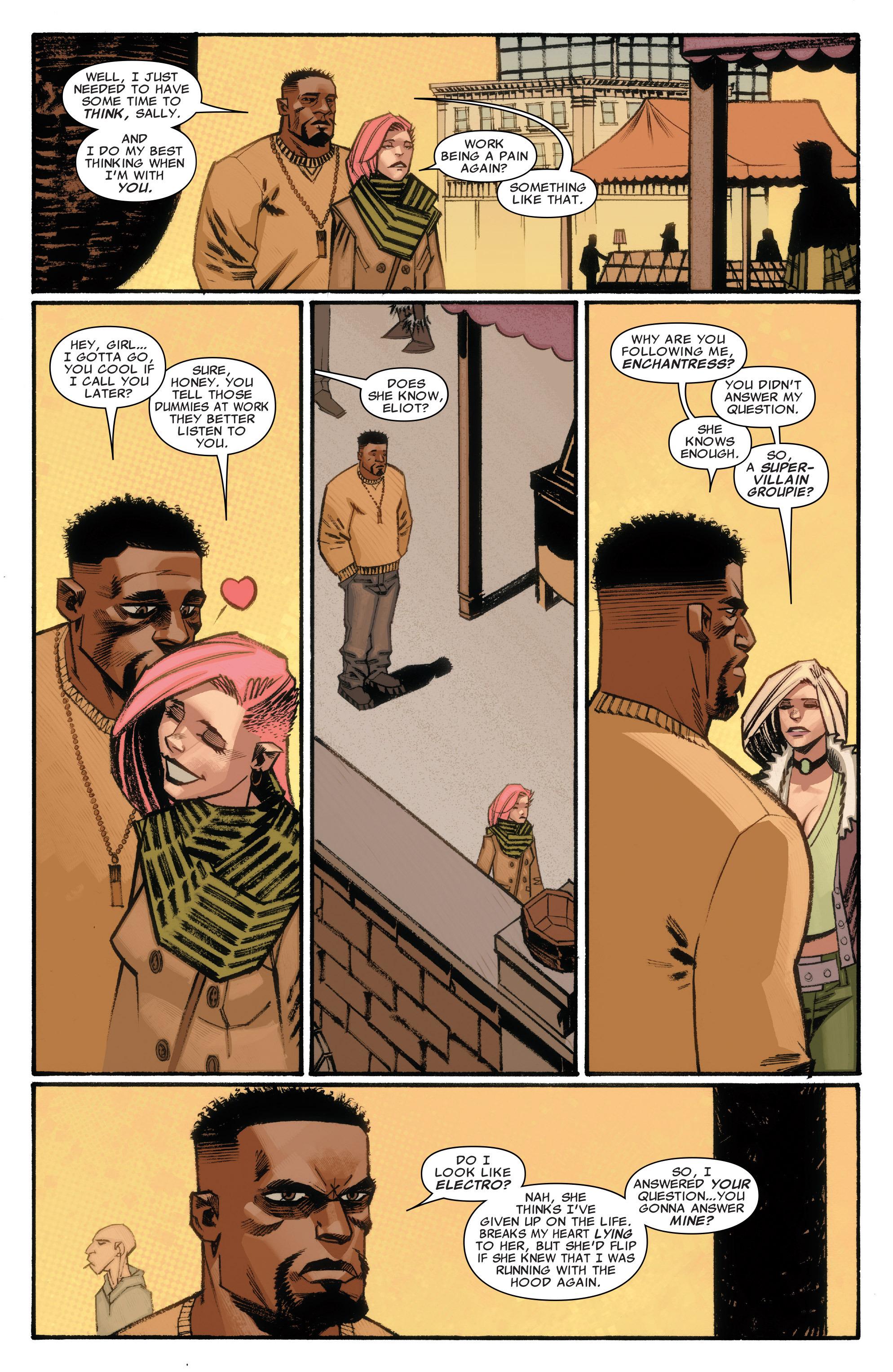 Read online Illuminati comic -  Issue #3 - 10