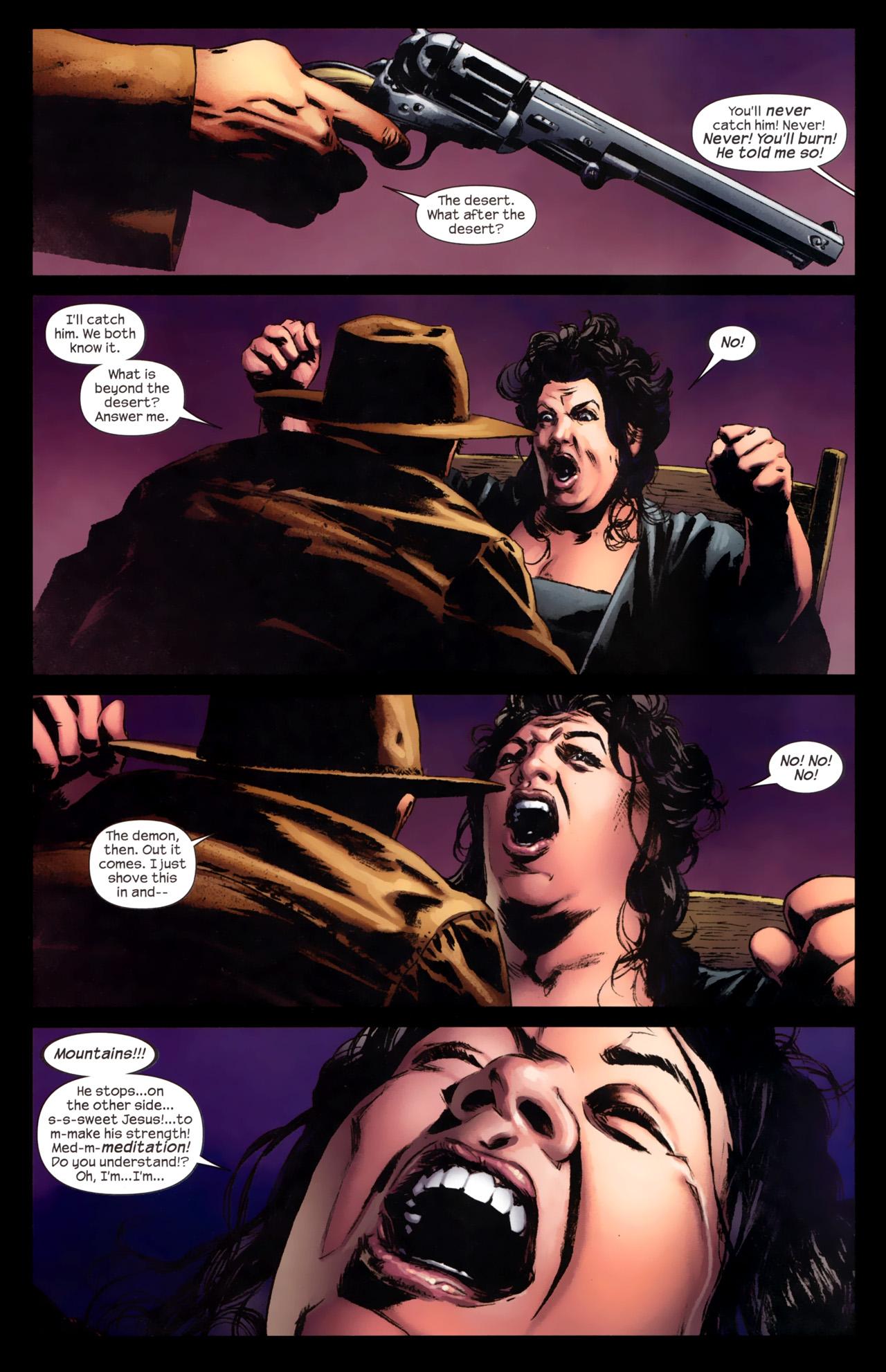 Read online Dark Tower: The Gunslinger - The Battle of Tull comic -  Issue #4 - 16