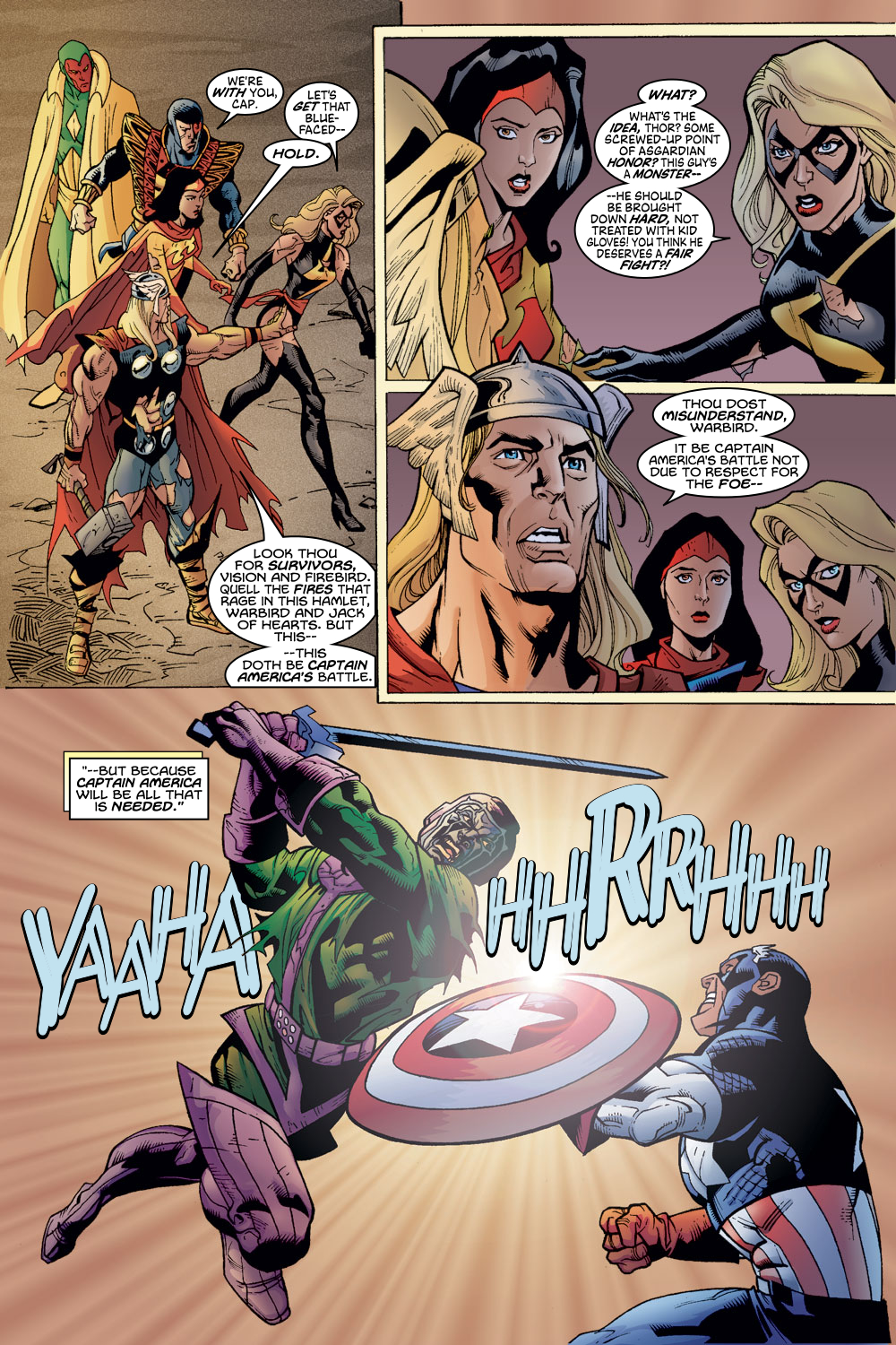 Read online Avengers (1998) comic -  Issue #54 - 5