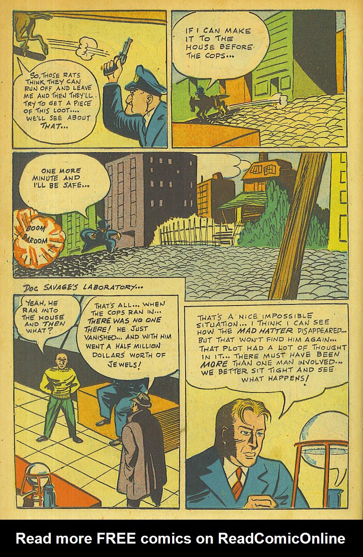 Read online Shadow Comics comic -  Issue #63 - 22