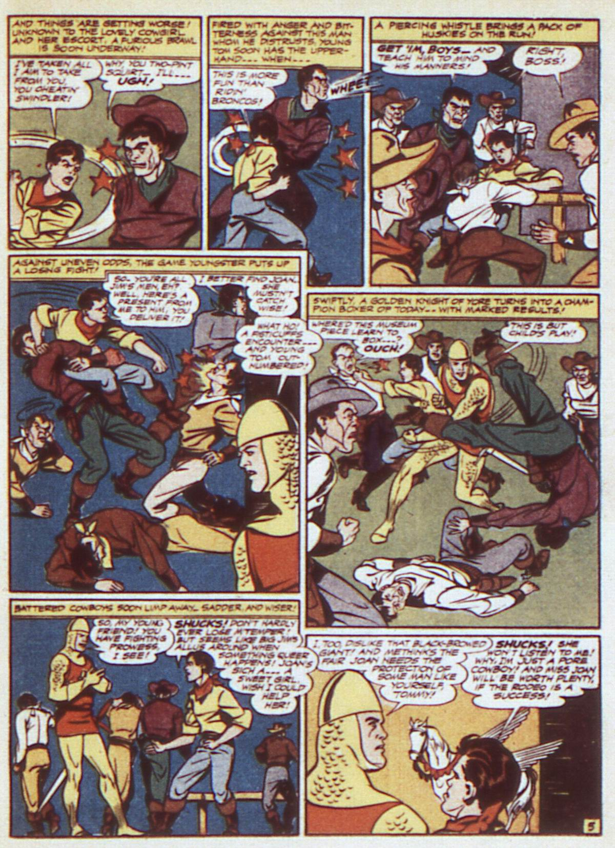Read online Adventure Comics (1938) comic -  Issue #84 - 31