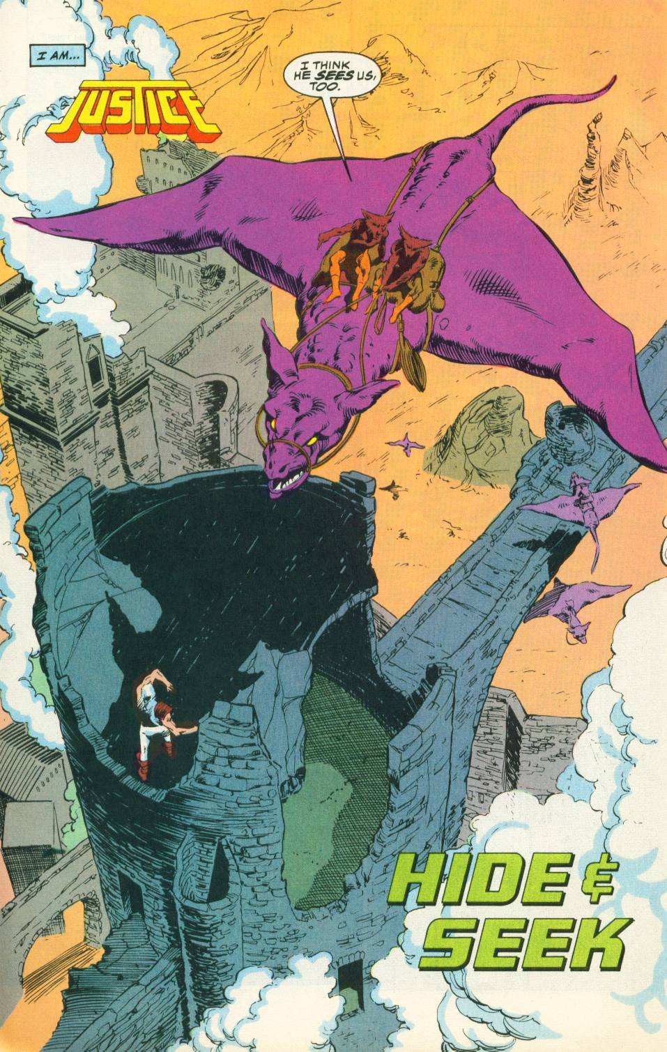 Read online Justice (1986) comic -  Issue #22 - 3