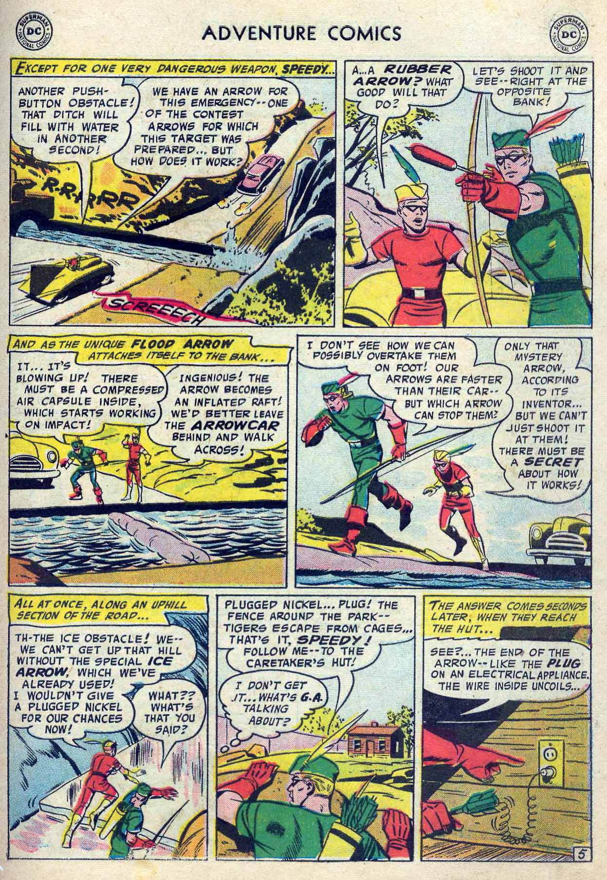 Read online Adventure Comics (1938) comic -  Issue #237 - 31