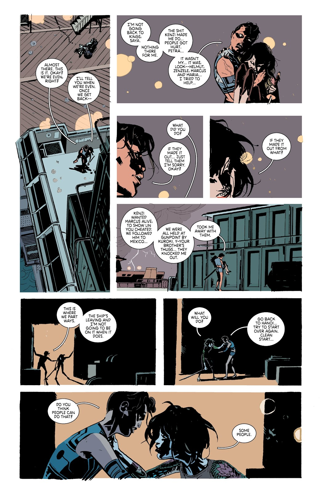 Read online Deadly Class comic -  Issue #37 - 21