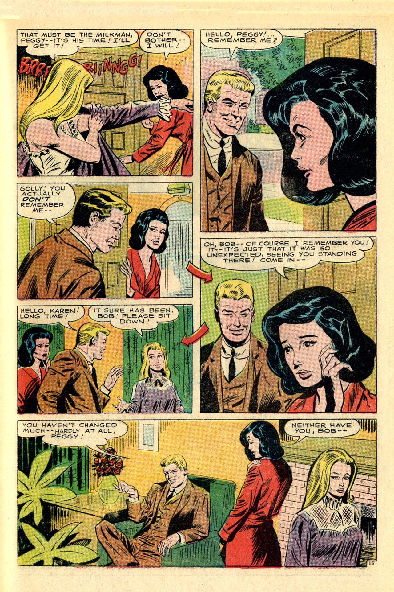 Read online Secret Hearts comic -  Issue #118 - 33