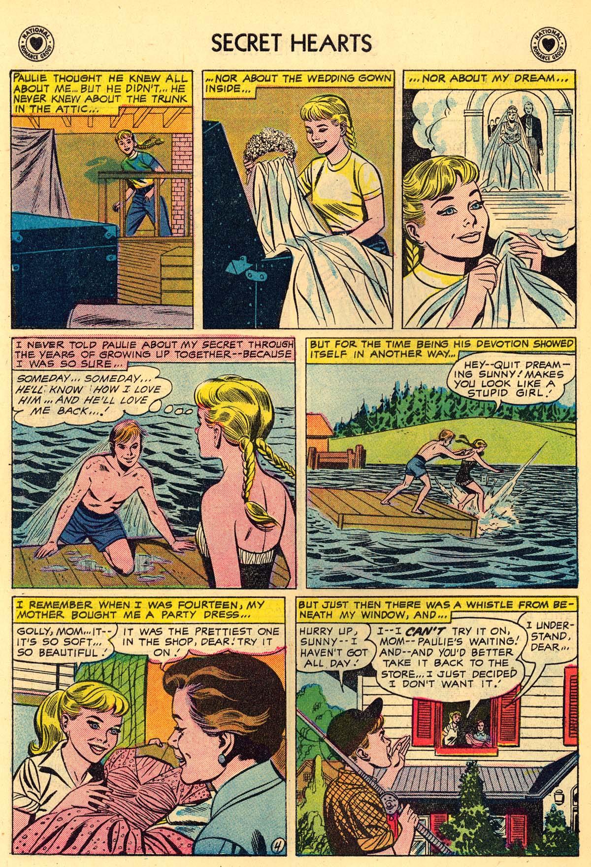 Read online Secret Hearts comic -  Issue #43 - 30