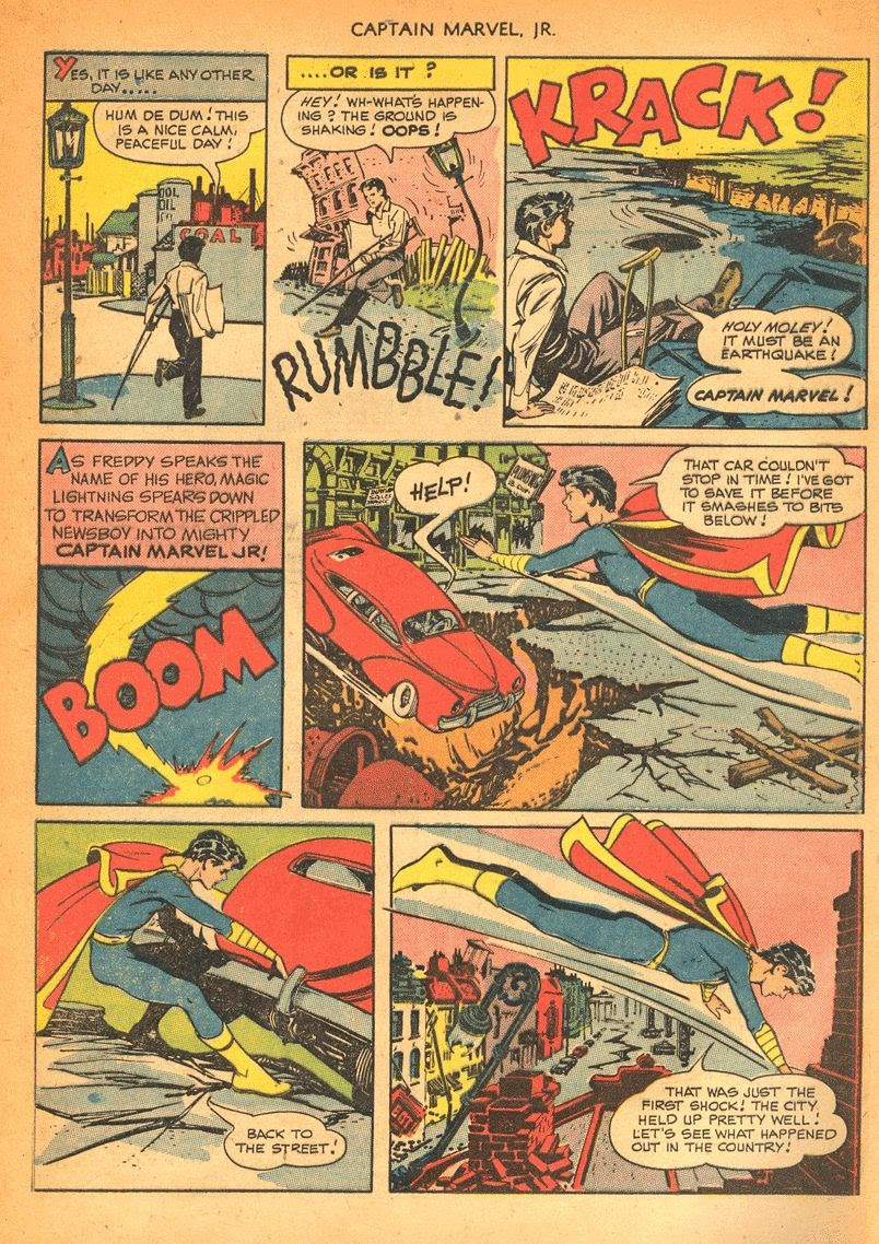 Captain Marvel, Jr. issue 84 - Page 3