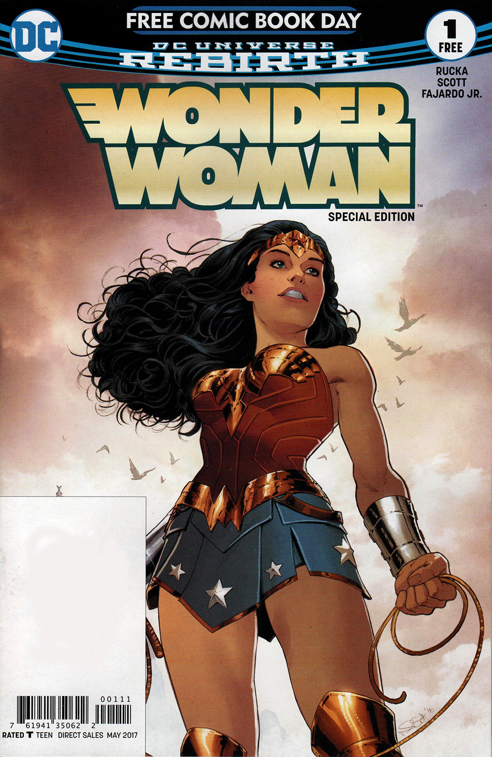 Read online Free Comic Book Day 2017 comic -  Issue # Wonder Woman 1 - 1
