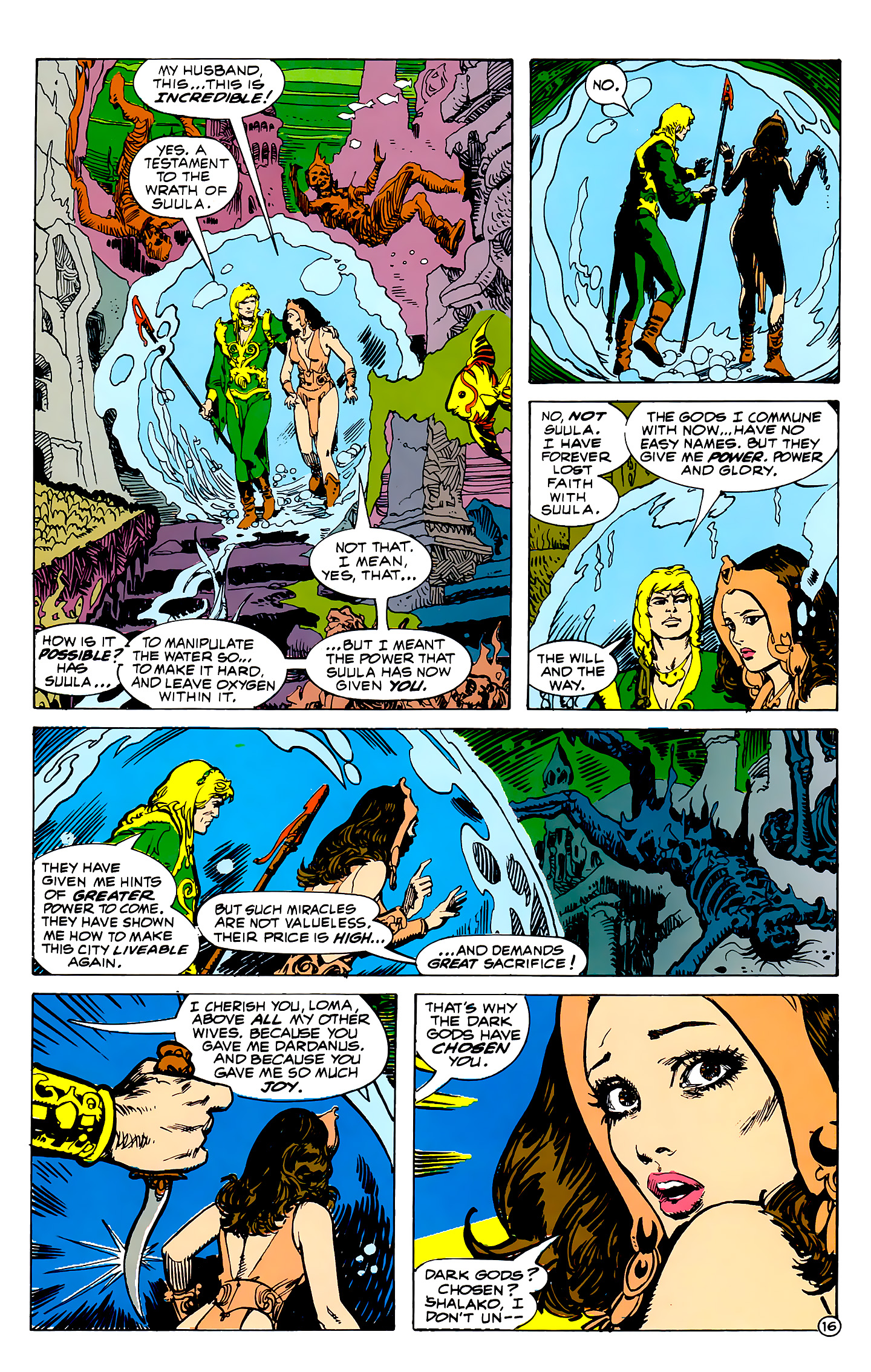 Read online Atlantis Chronicles comic -  Issue #2 - 16
