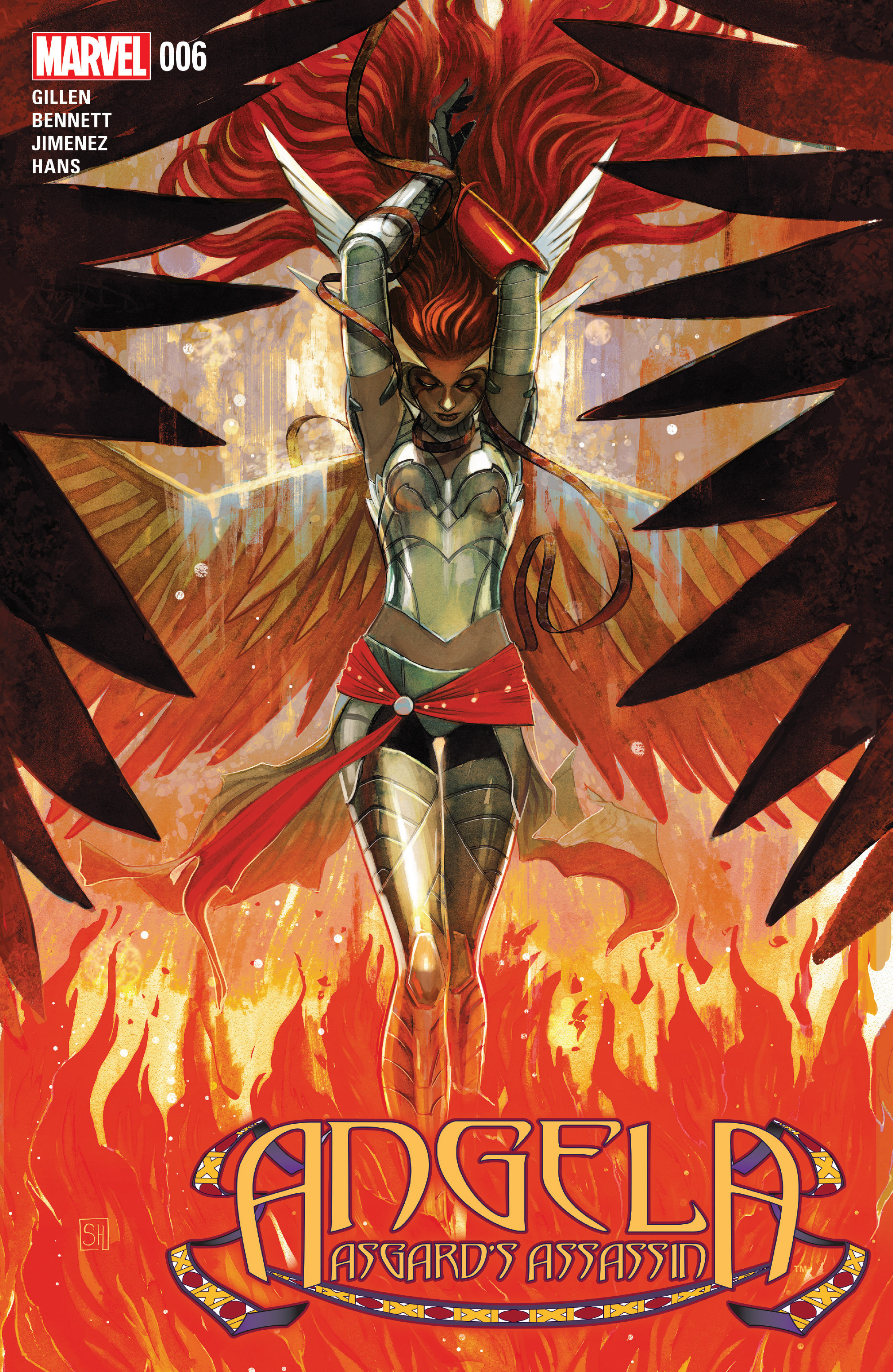 Read online Angela: Asgard's Assassin comic -  Issue #6 - 1