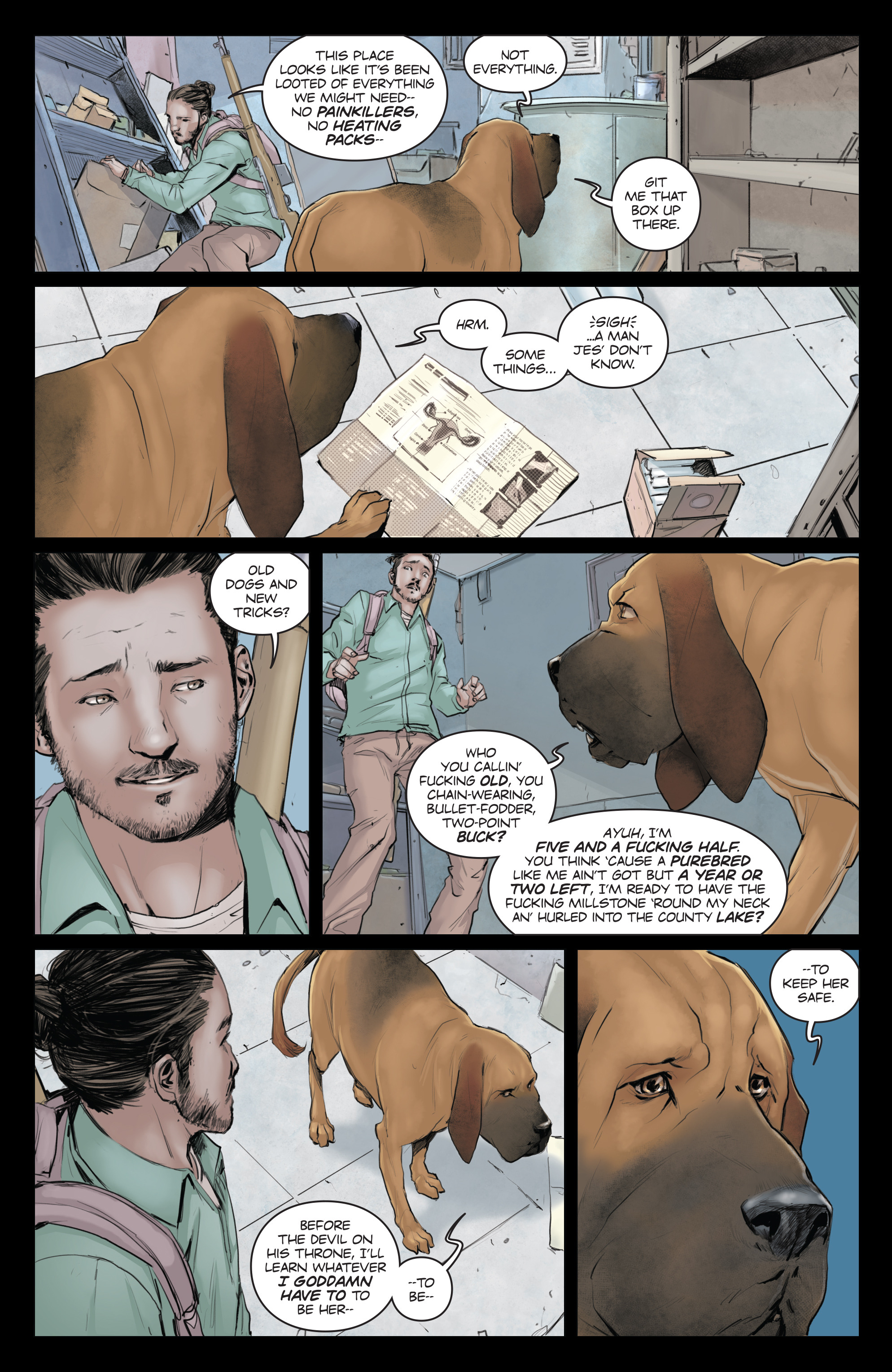 Read online Animosity comic -  Issue #5 - 12