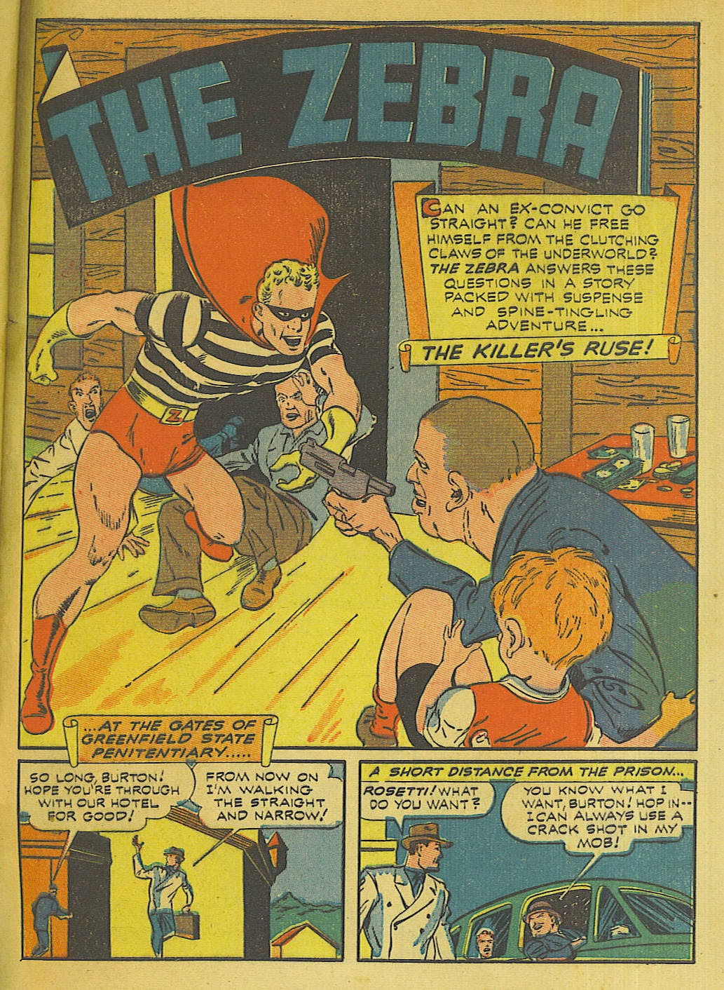 Green Hornet Comics issue 10 - Page 36