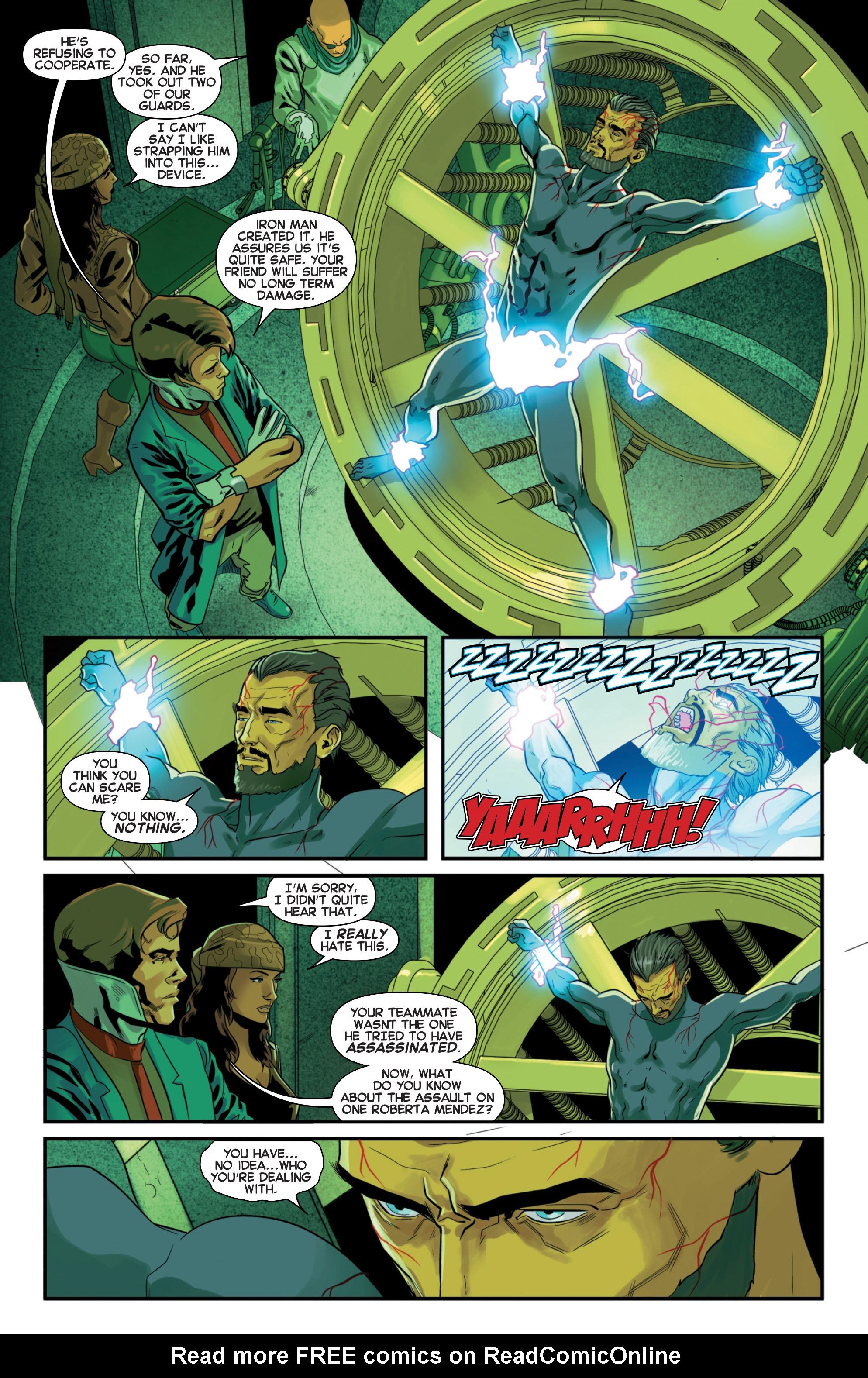 Read online Secret Wars 2099 comic -  Issue #3 - 12