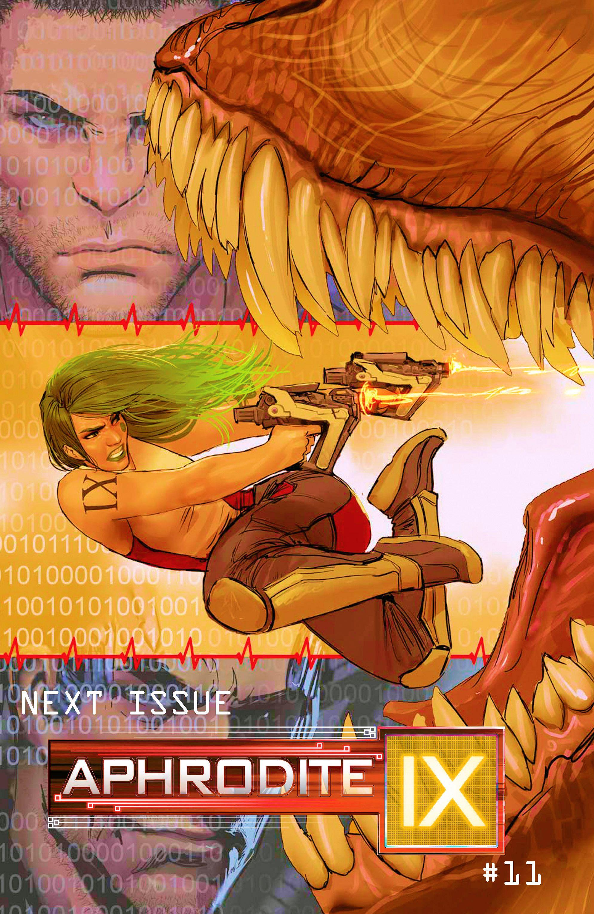 Read online Aphrodite IX (2013) comic -  Issue #10 - 21