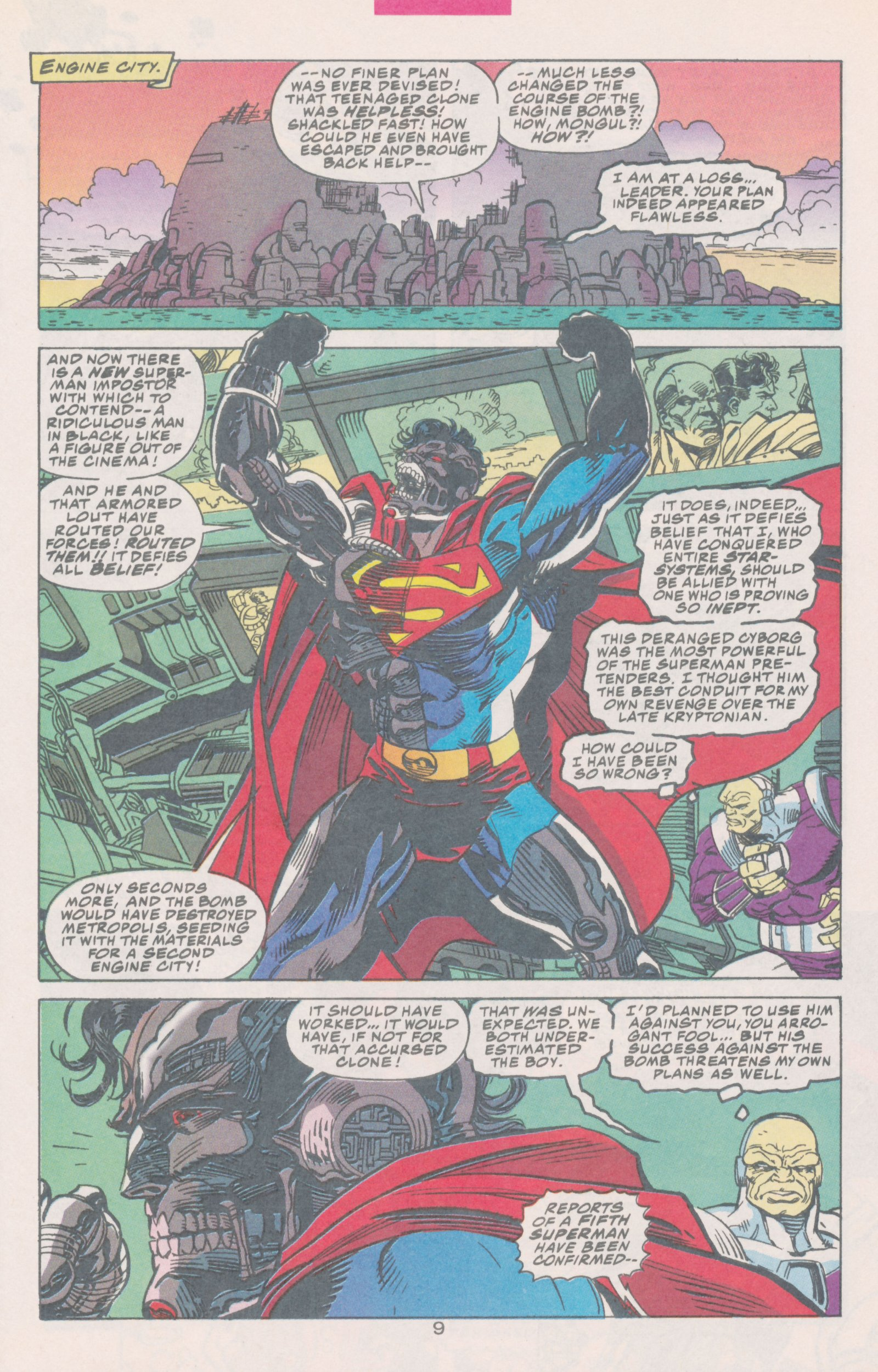 Read online Action Comics (1938) comic -  Issue #691 - 15