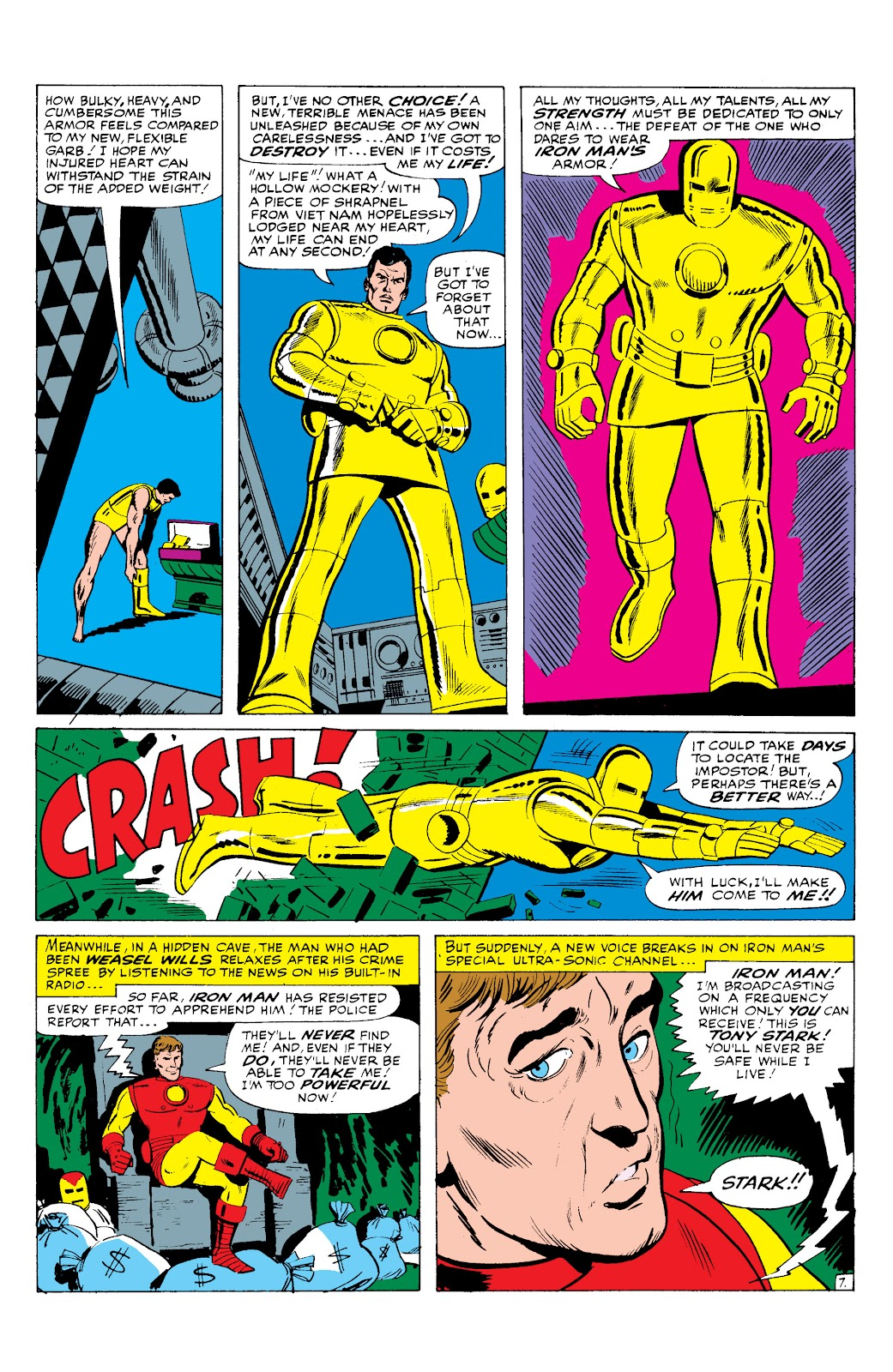 Read online Marvel Masterworks: The Invincible Iron Man comic -  Issue # TPB 2 (Part 3) - 35