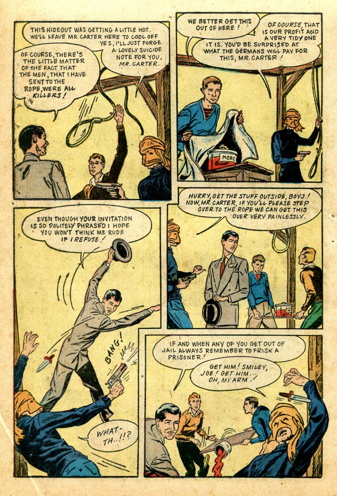 Read online Shadow Comics comic -  Issue #44 - 45
