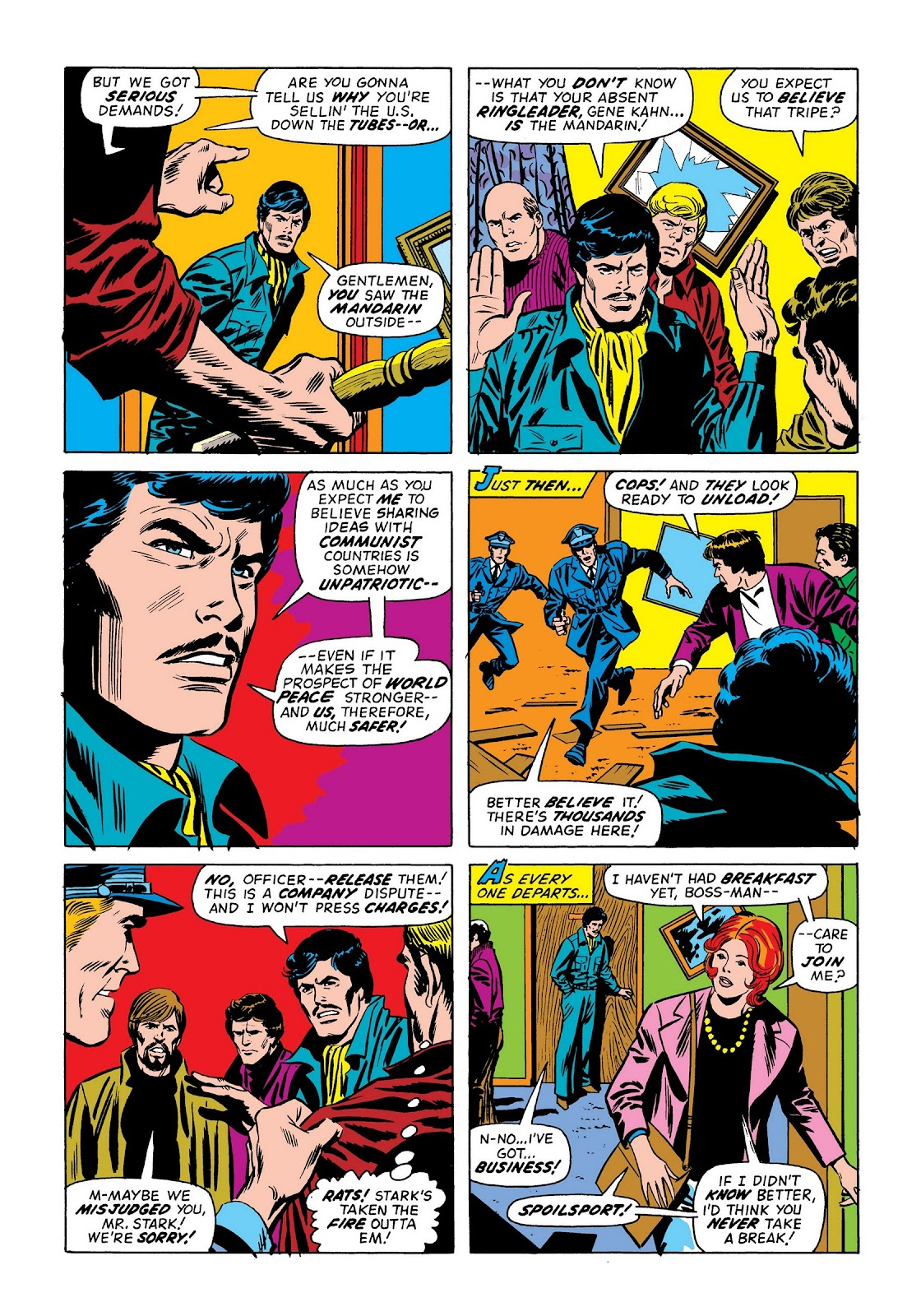 Read online Marvel Masterworks: The Invincible Iron Man comic -  Issue # TPB 9 (Part 2) - 4