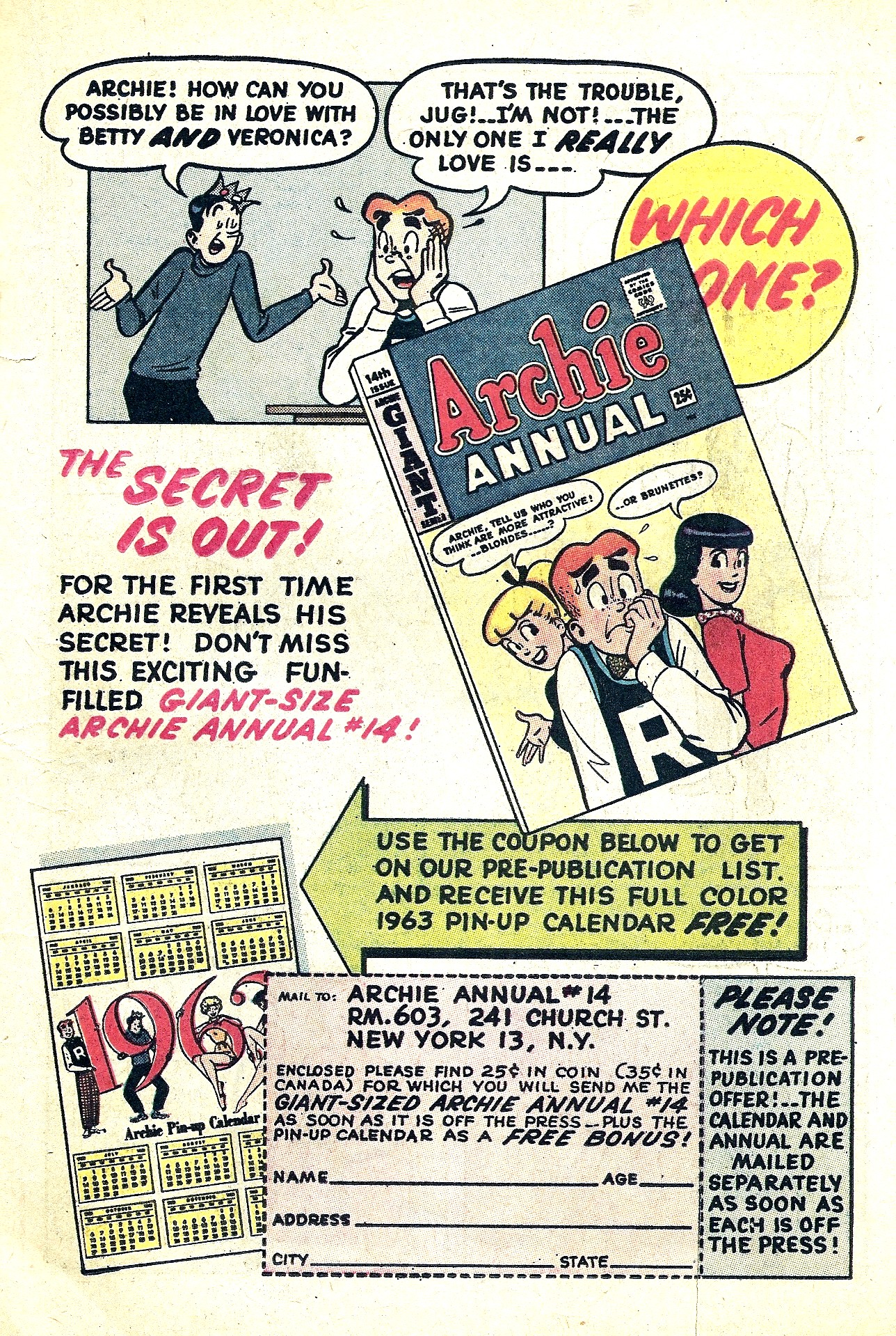 Read online Archie (1960) comic -  Issue #130 - 19