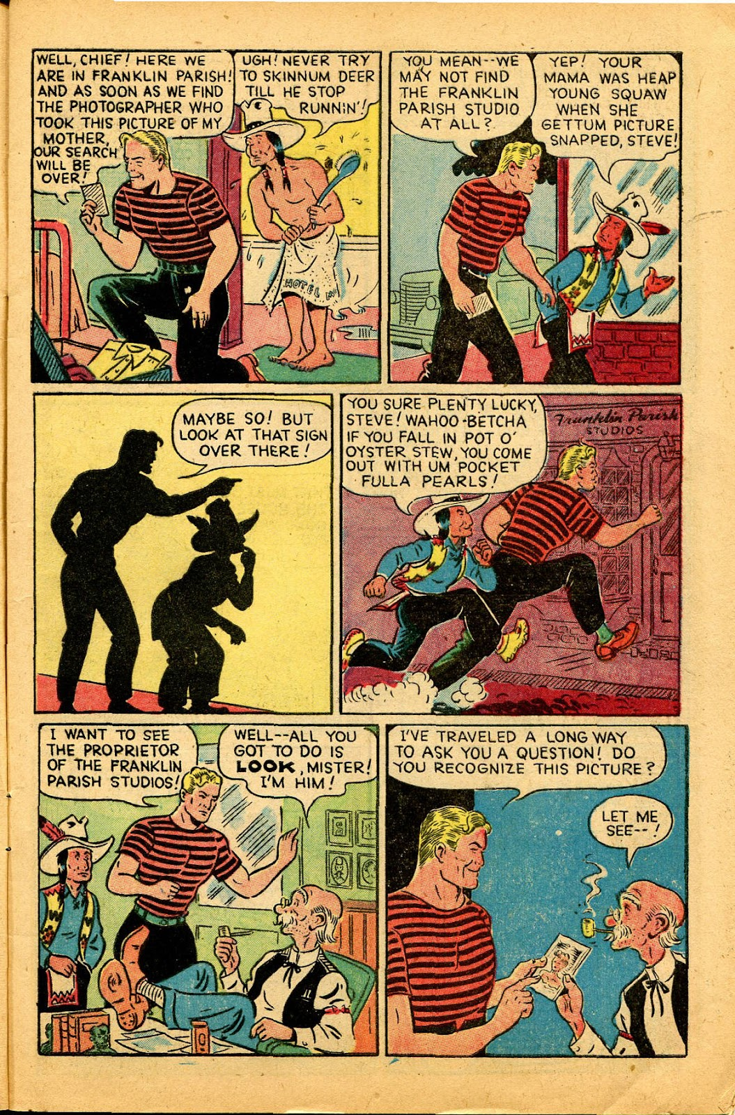 Read online Famous Funnies comic -  Issue #159 - 7