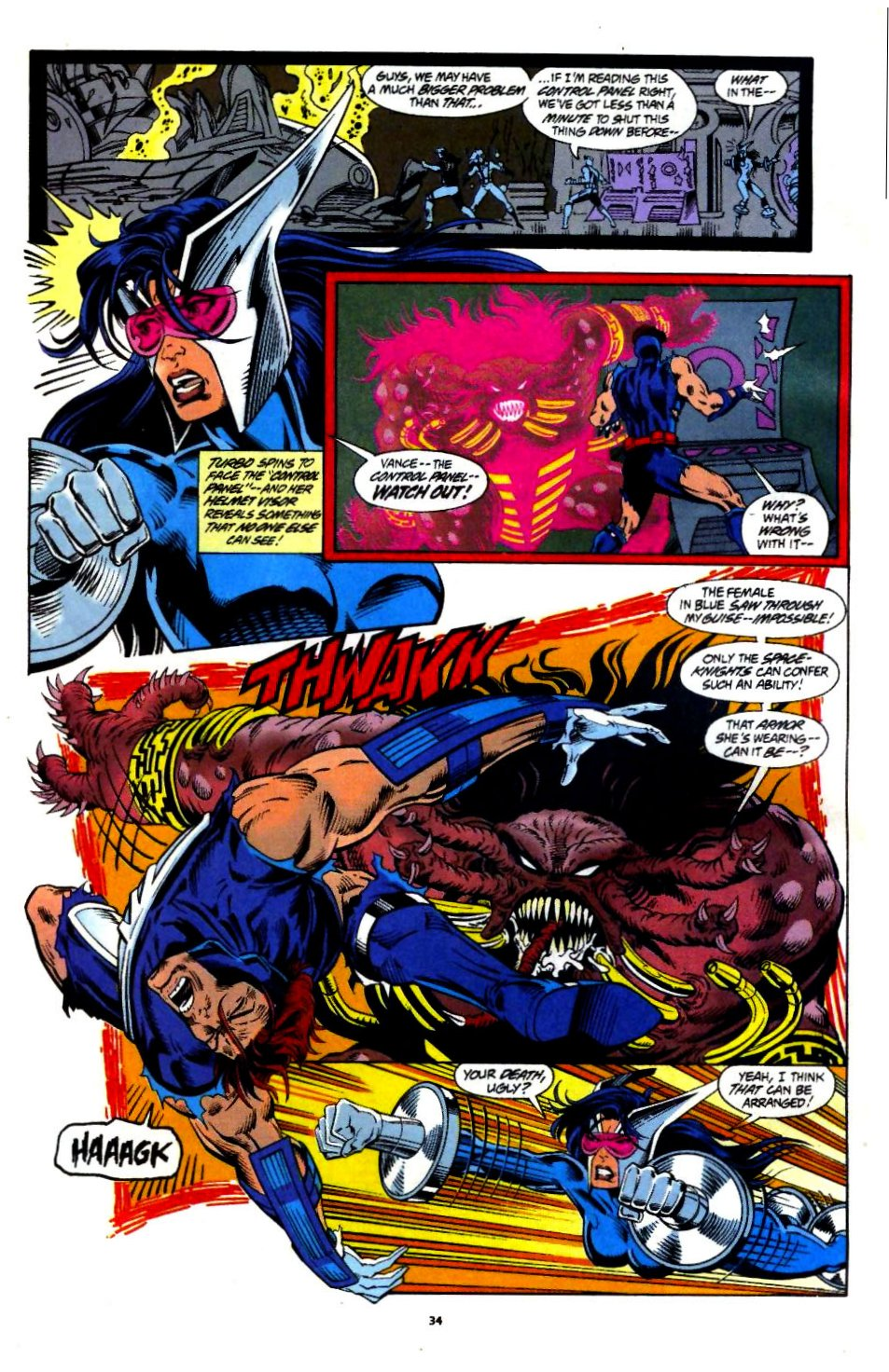 The New Warriors Issue #60 #64 - English 26