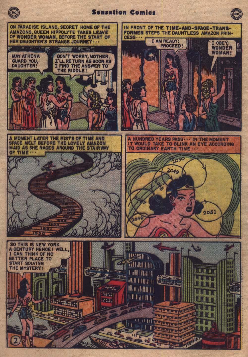Read online Sensation (Mystery) Comics comic -  Issue #103 - 3