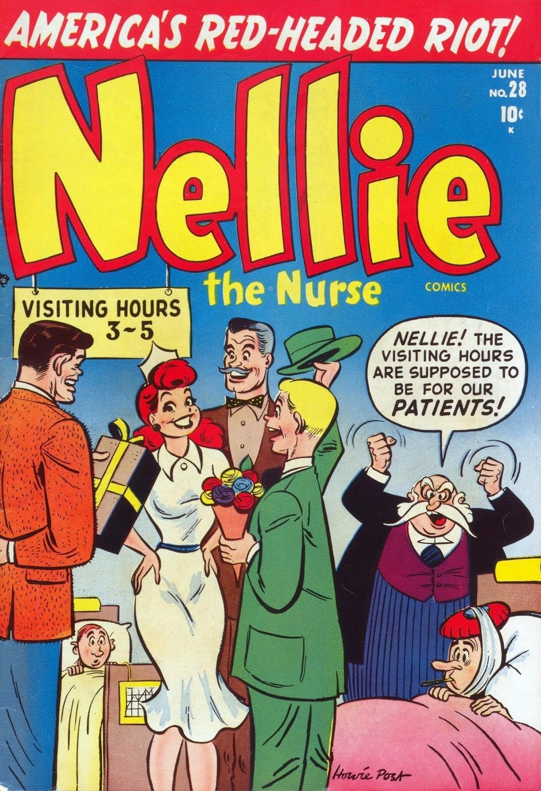 Nellie The Nurse (1945) issue 28 - Page 1